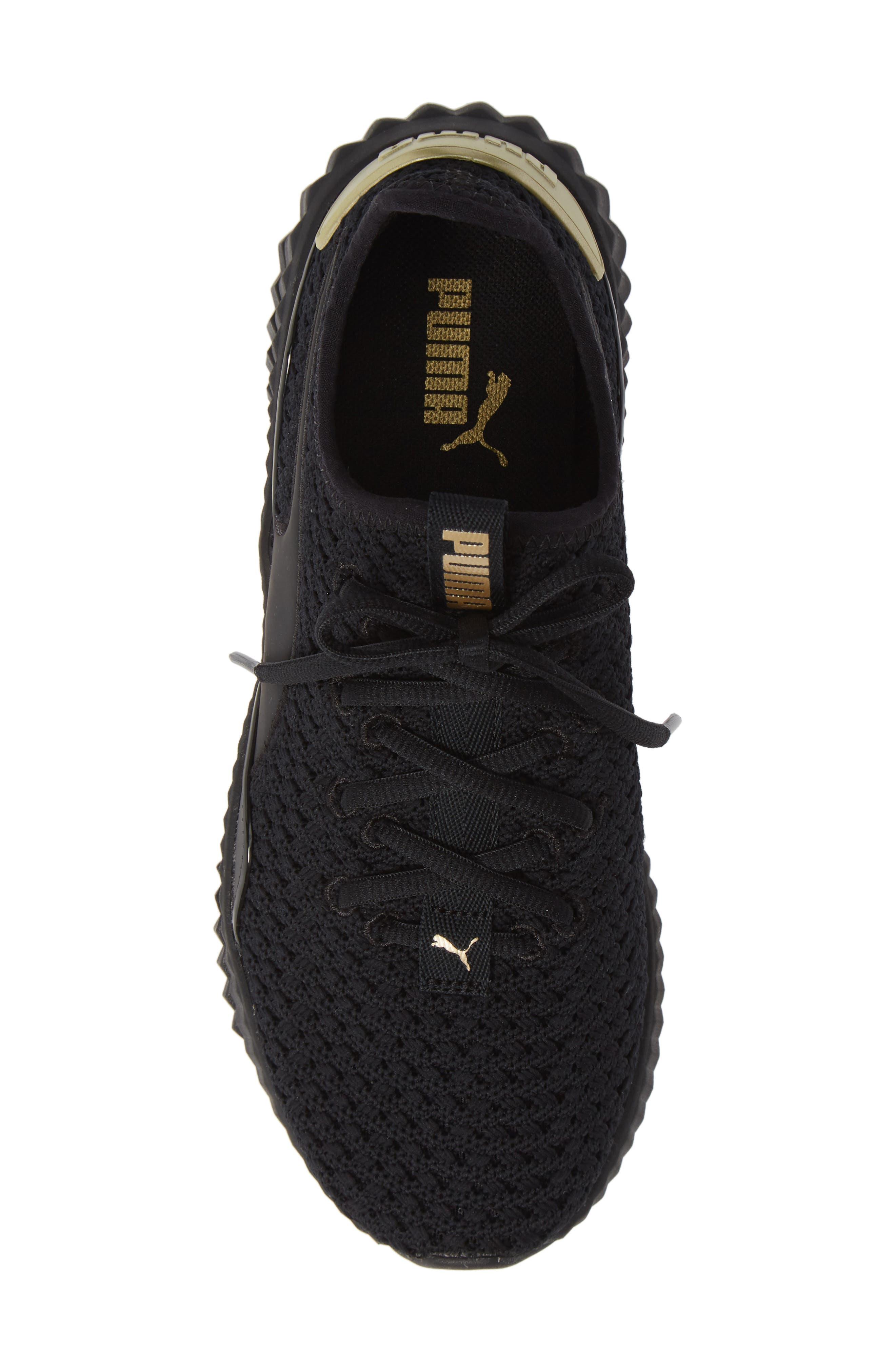 Defy Varsity Sneaker,                             Alternate thumbnail 5, color,                             001