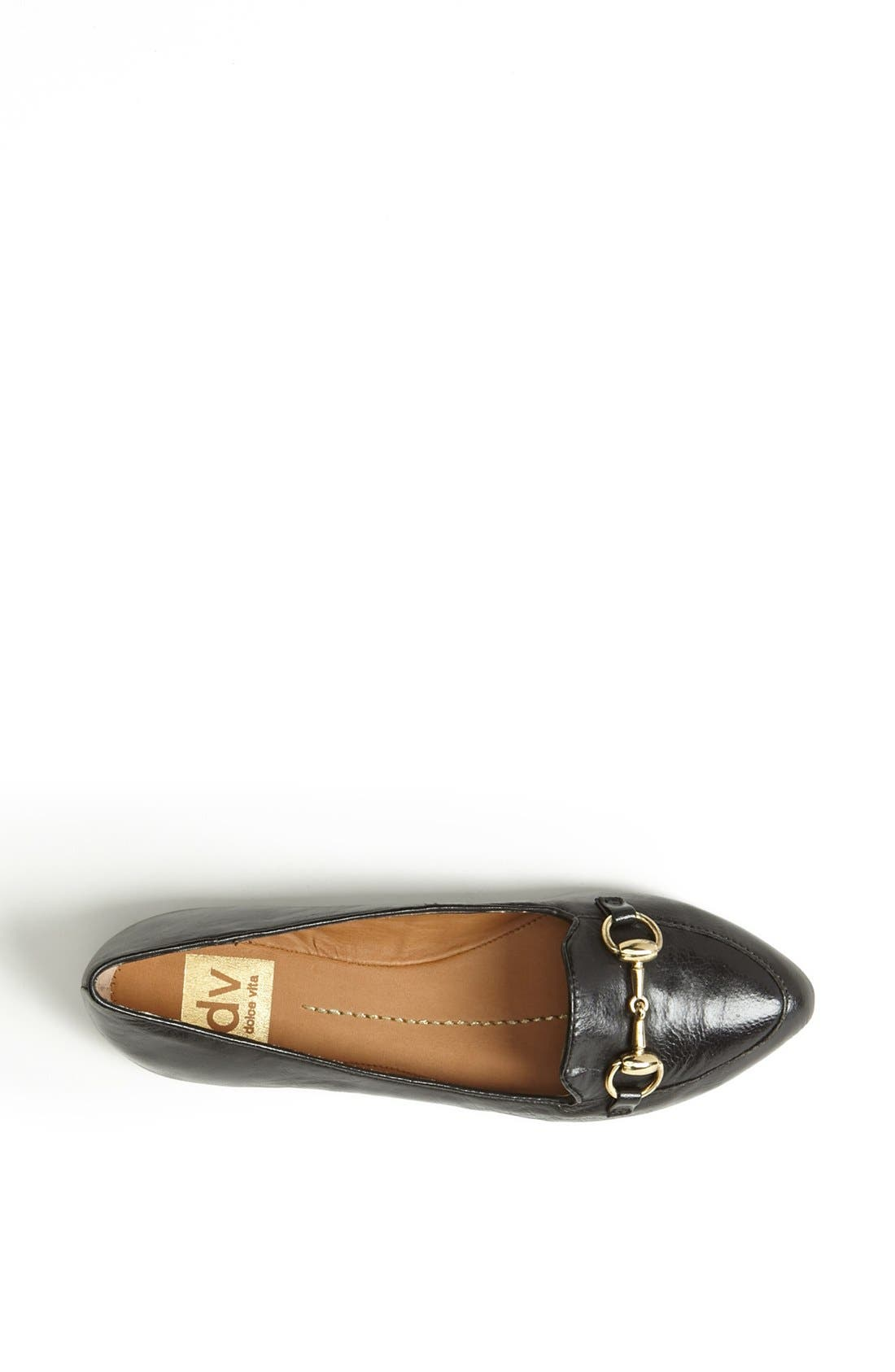DV BY DOLCE VITA,                             'Langely' Flat,                             Alternate thumbnail 4, color,                             001
