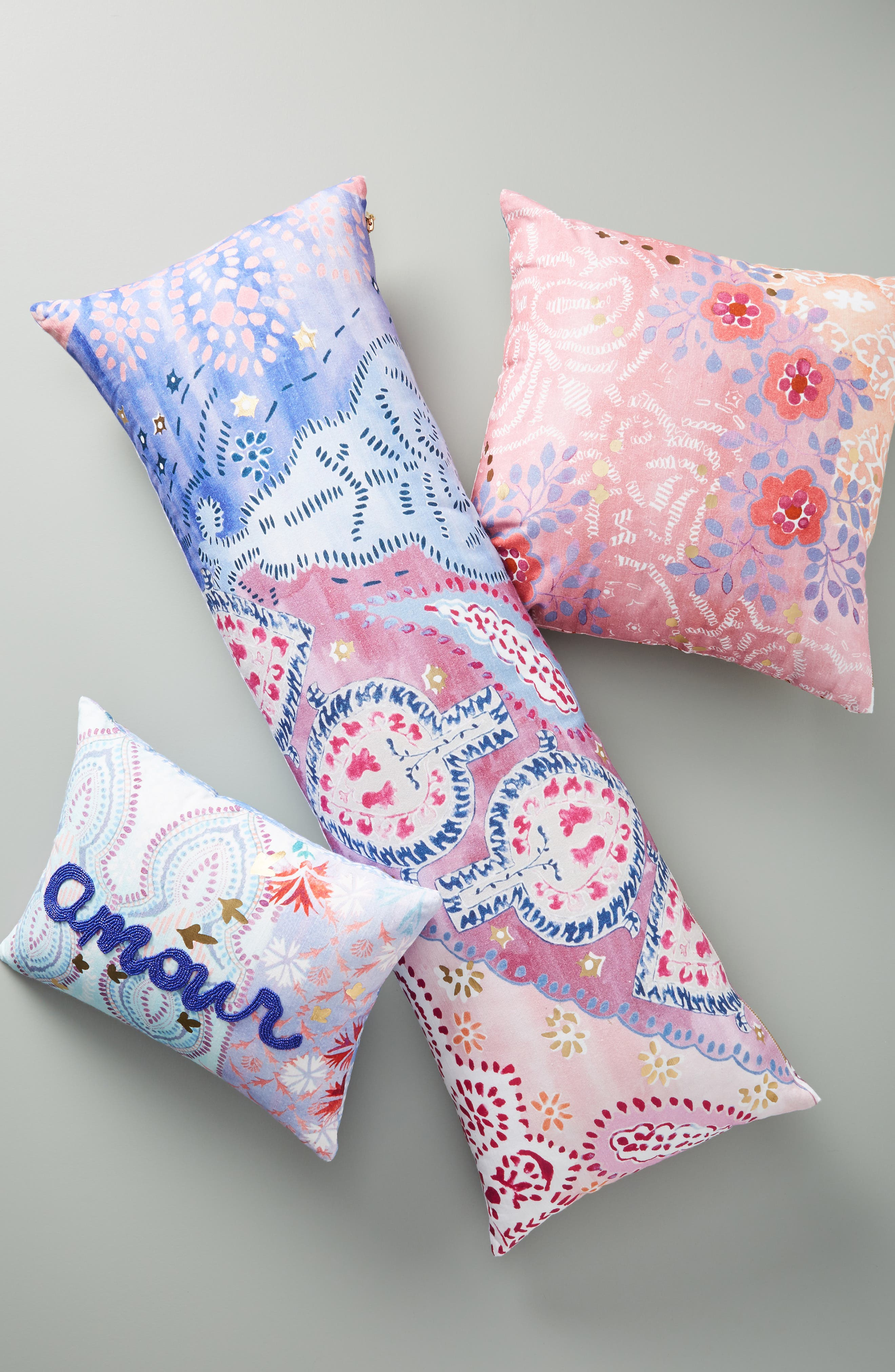 Piper Accent Pillow,                             Alternate thumbnail 5, color,                             PERIWINKLE