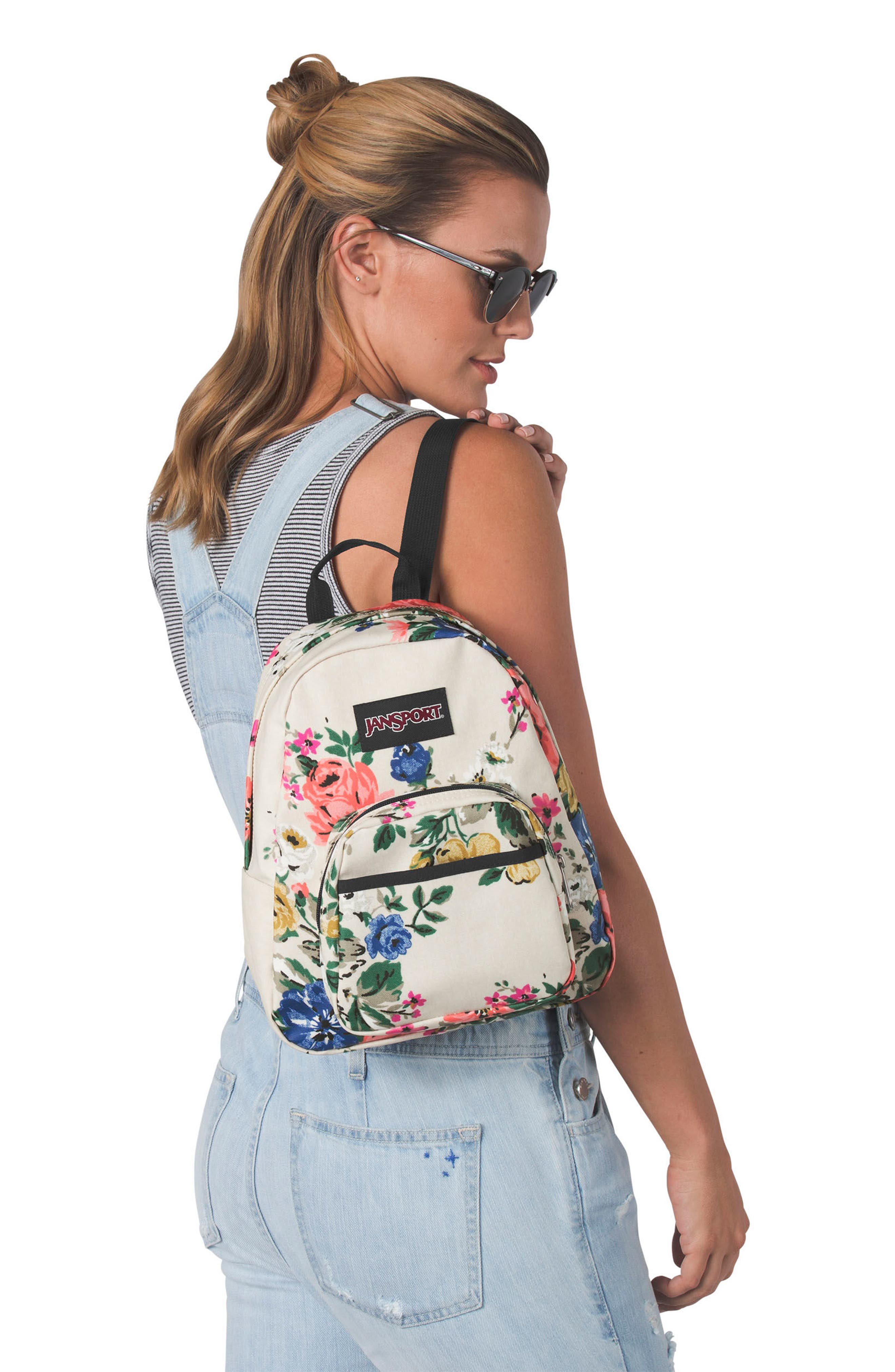 Half Pint FX Backpack,                             Alternate thumbnail 5, color,                             SATIN ROSE