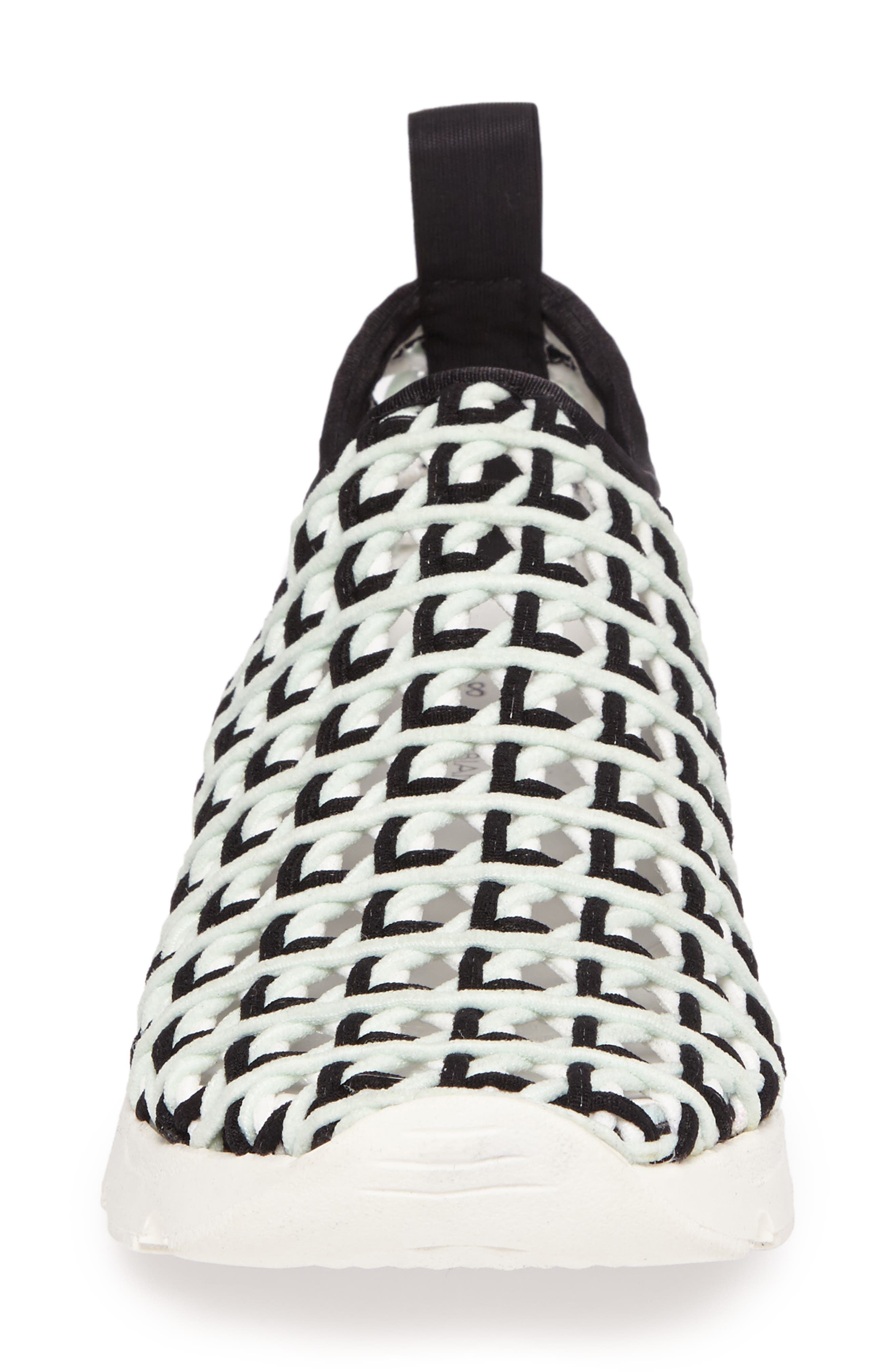 Willow Open Knit Sneaker,                             Alternate thumbnail 8, color,