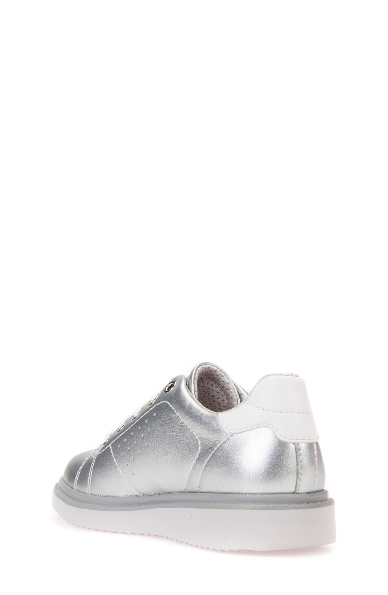 Thymar Low Top Sneaker,                             Alternate thumbnail 2, color,                             SILVER