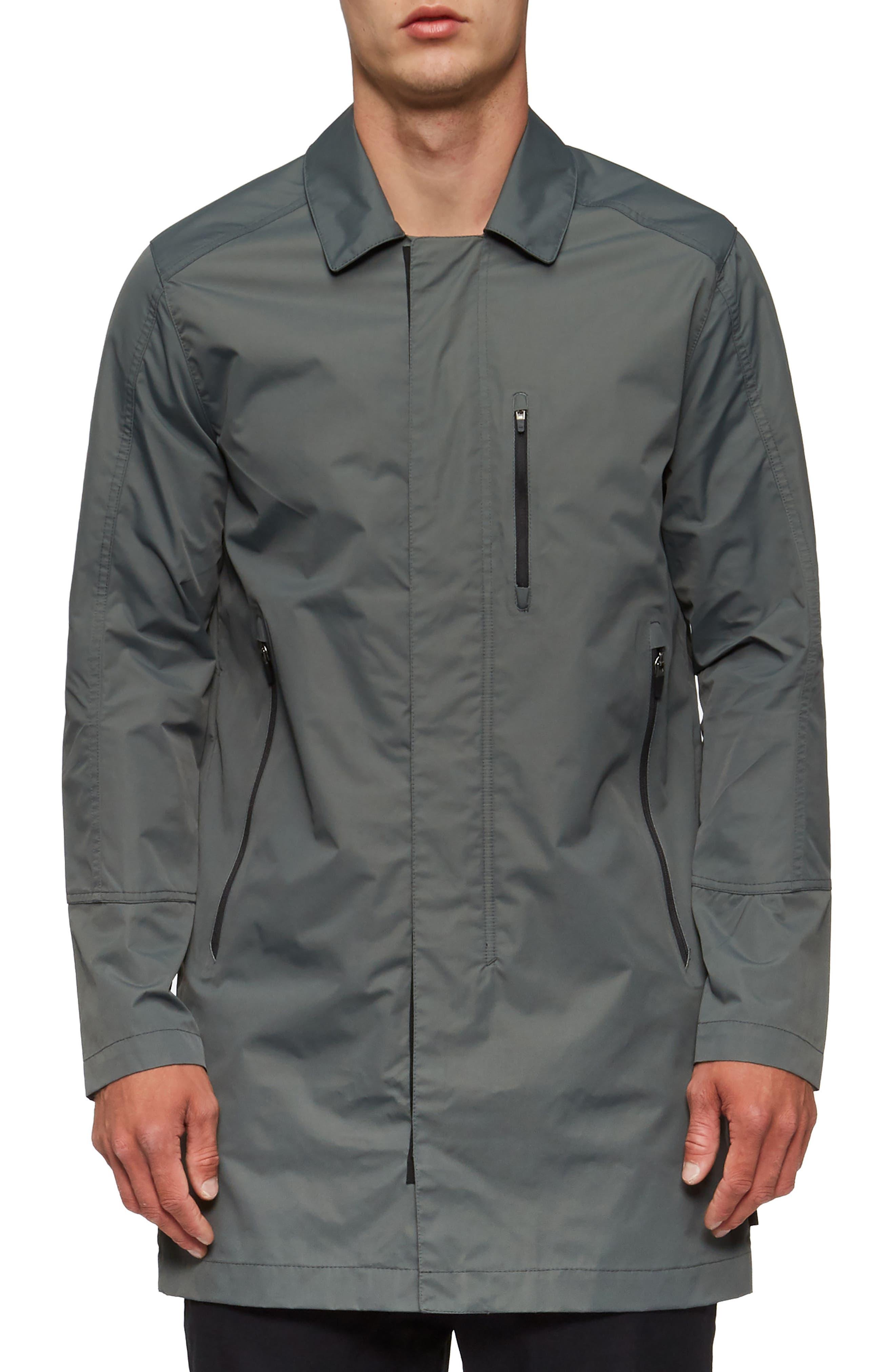 Deckard Weather Resistant Trench Coat,                         Main,                         color, 307