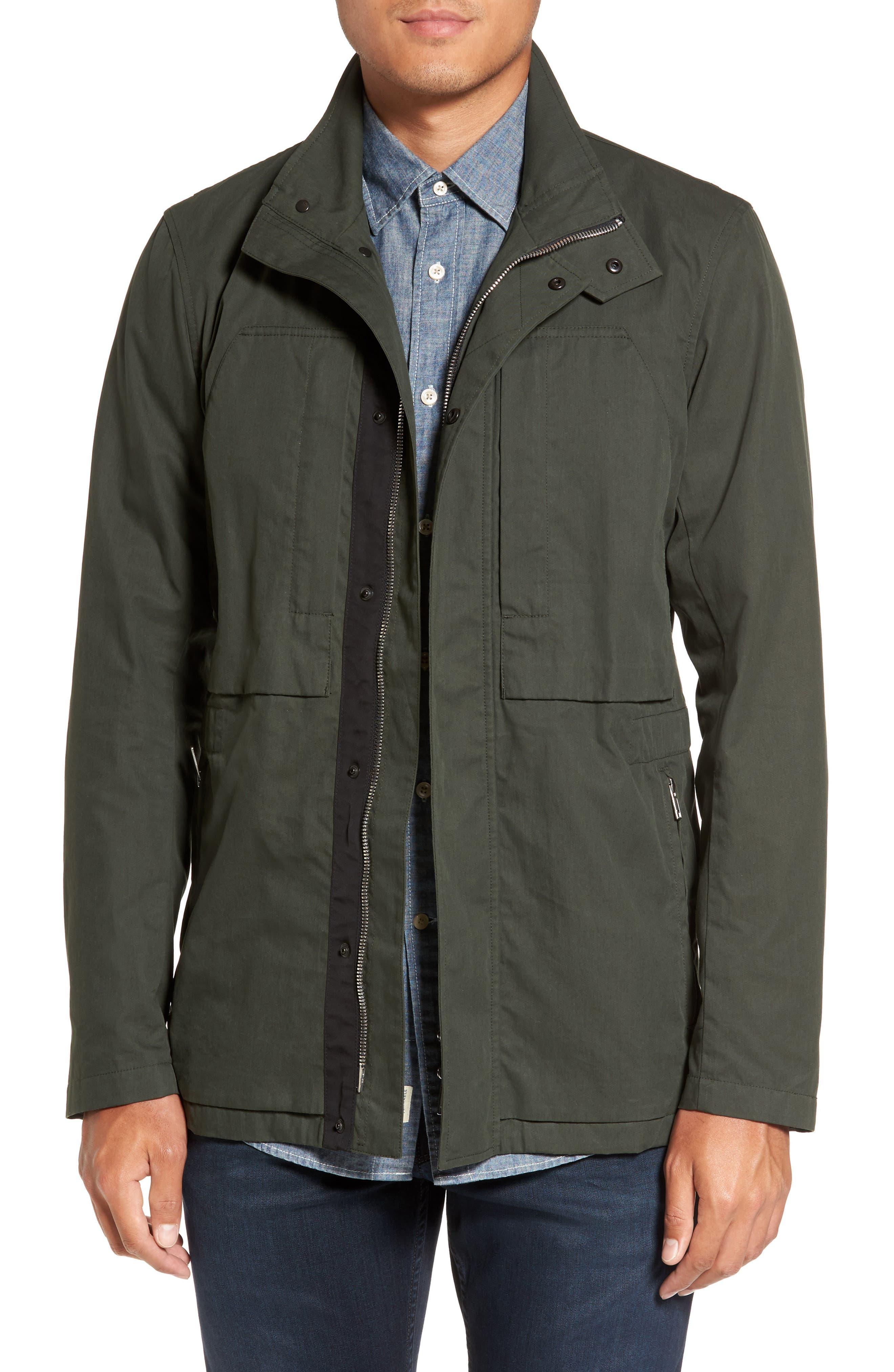 Canvas Field Jacket,                         Main,                         color,
