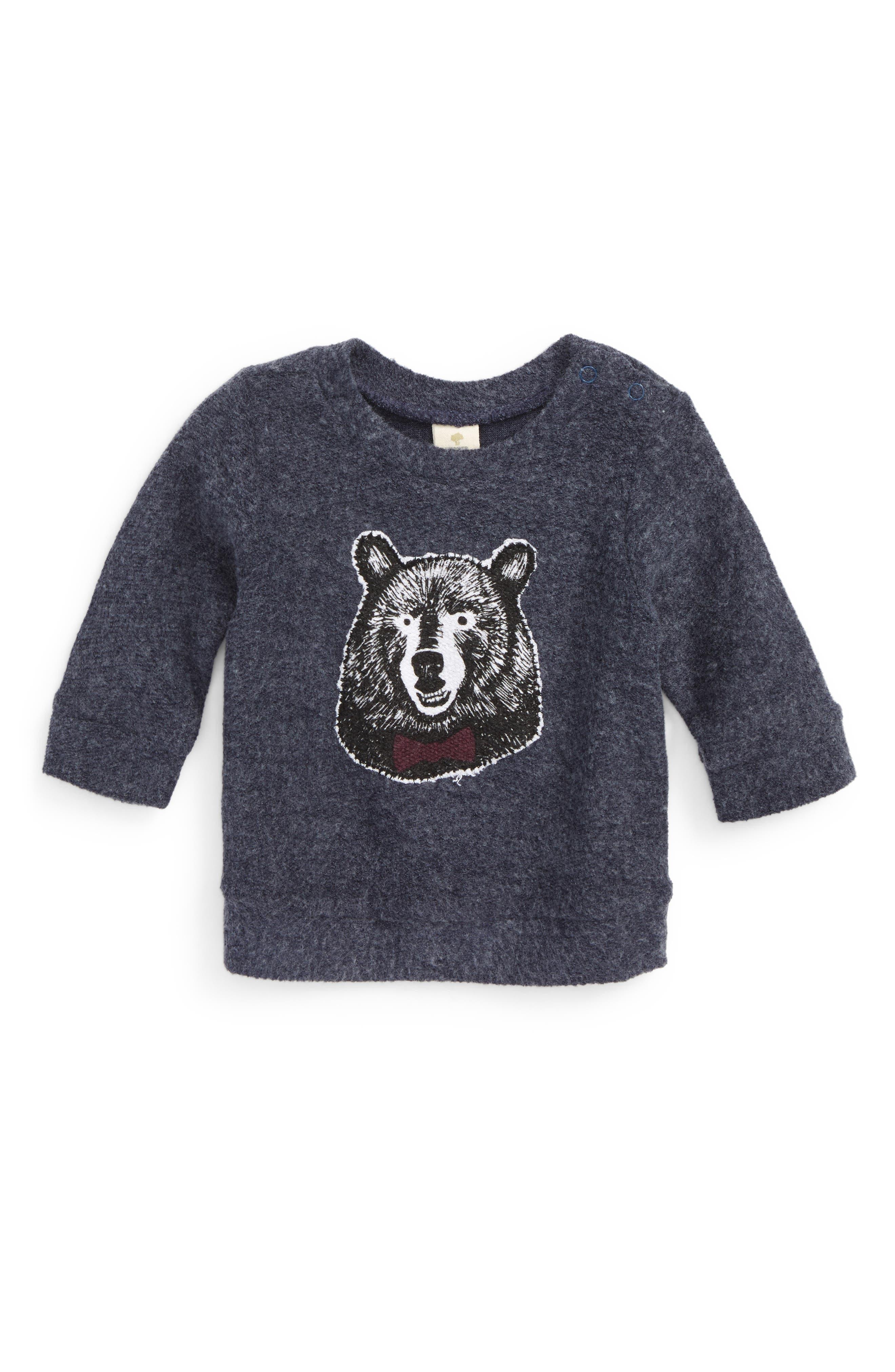 Appliqué Fleece Top,                         Main,                         color,