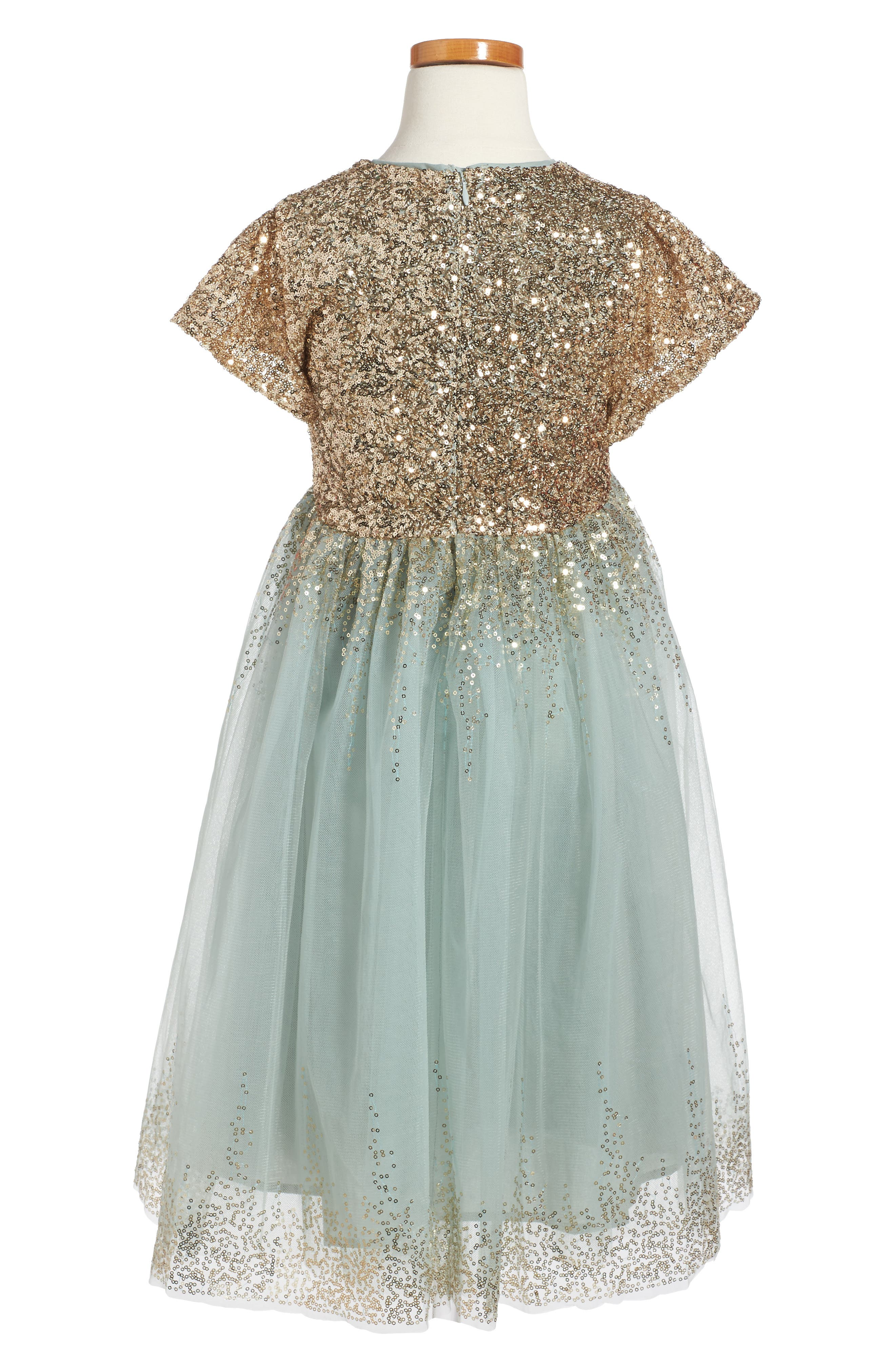 Wild and Gorgeous Sequin Moon Party Dress,                             Alternate thumbnail 2, color,                             440