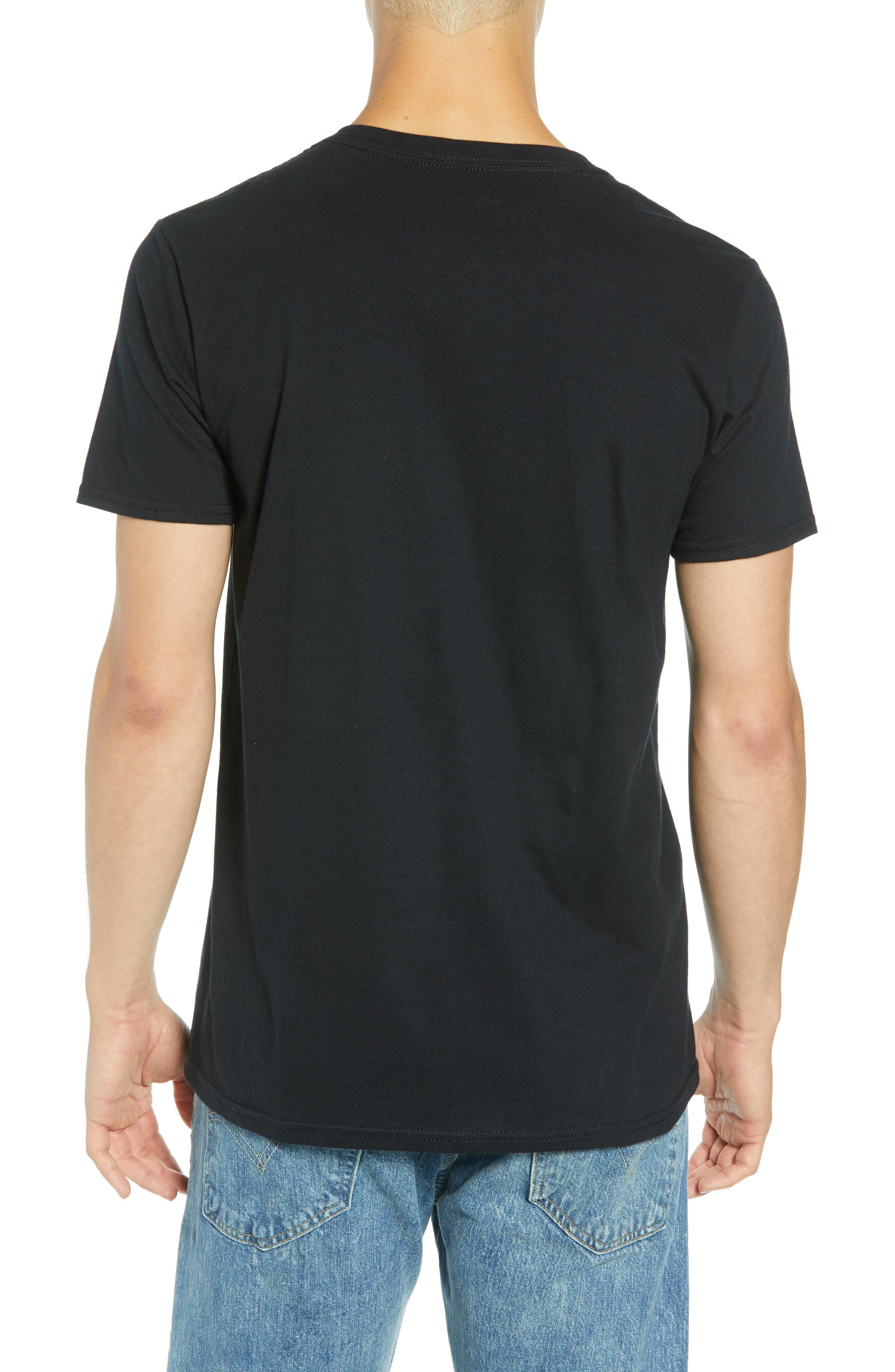 Goodfeathers T-Shirt,                             Alternate thumbnail 2, color,                             BLACK GOODFEATHER