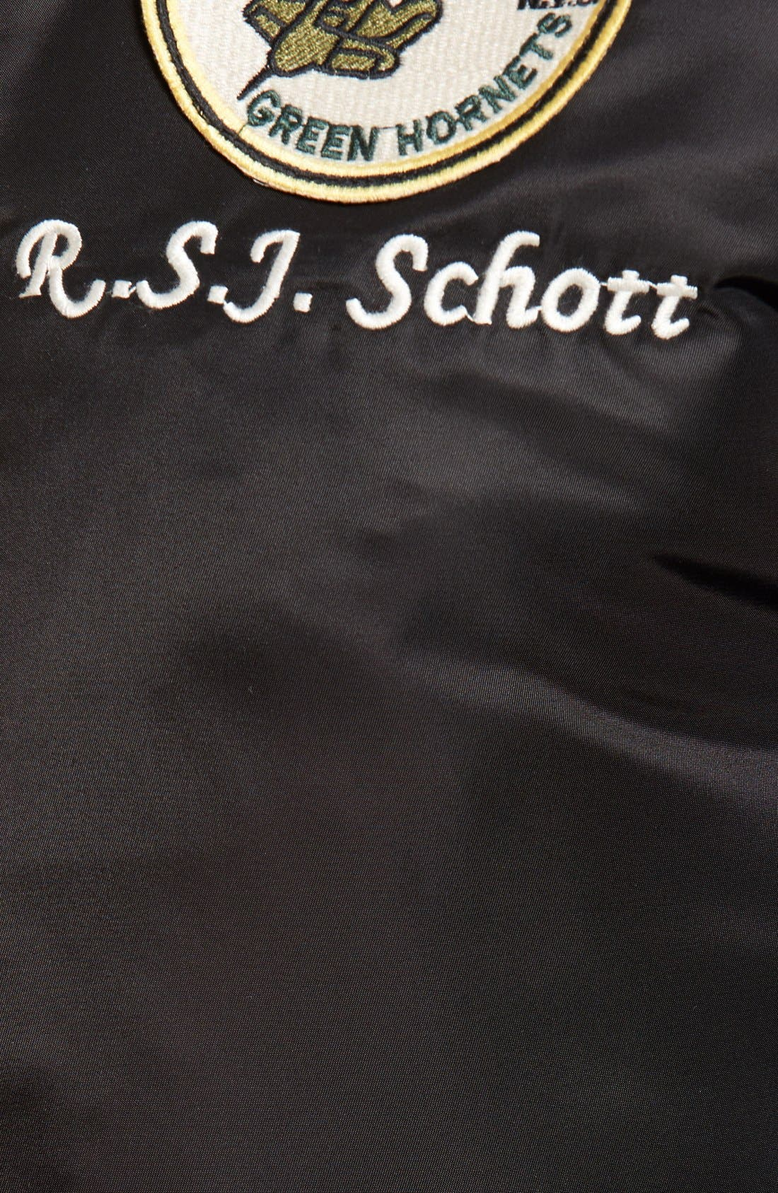 Souvenir MA-1 Flight Jacket,                             Alternate thumbnail 5, color,                             001