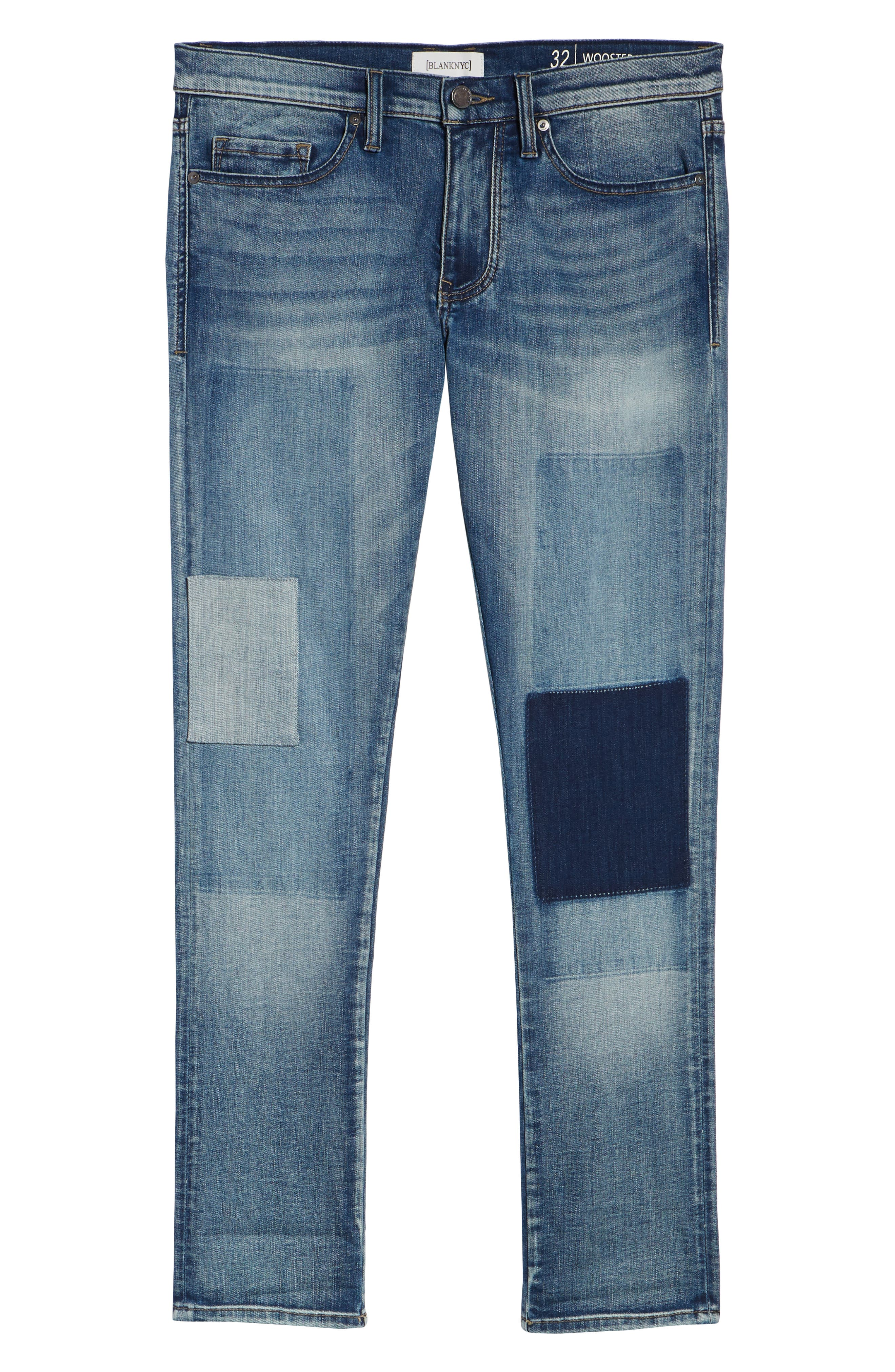 Stanton Straight Leg Jeans,                             Alternate thumbnail 6, color,                             COLD ONE