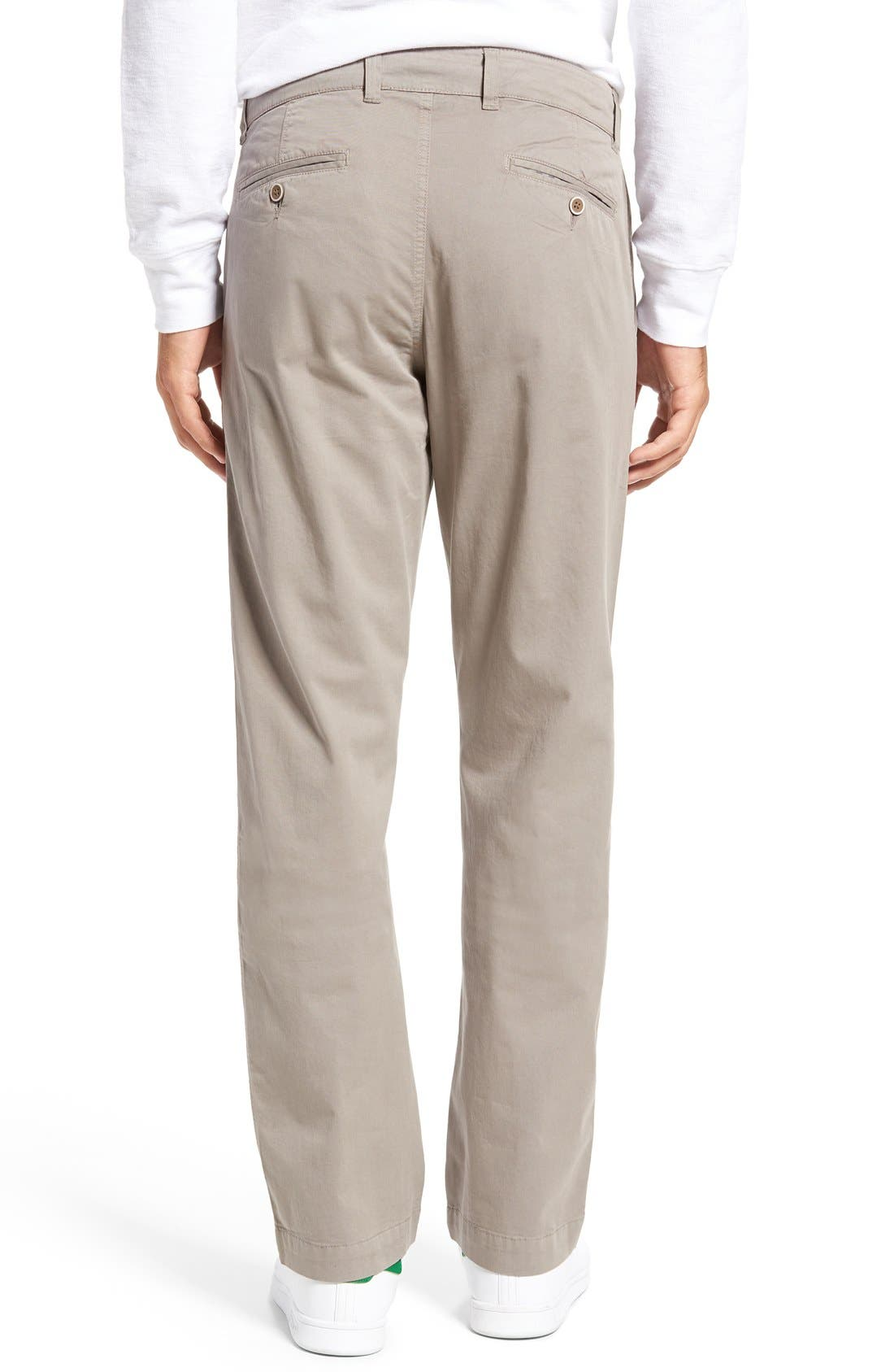 Sunny Modern Fit Stretch Twill Chinos,                             Alternate thumbnail 2, color,                             DUSTY SILVER