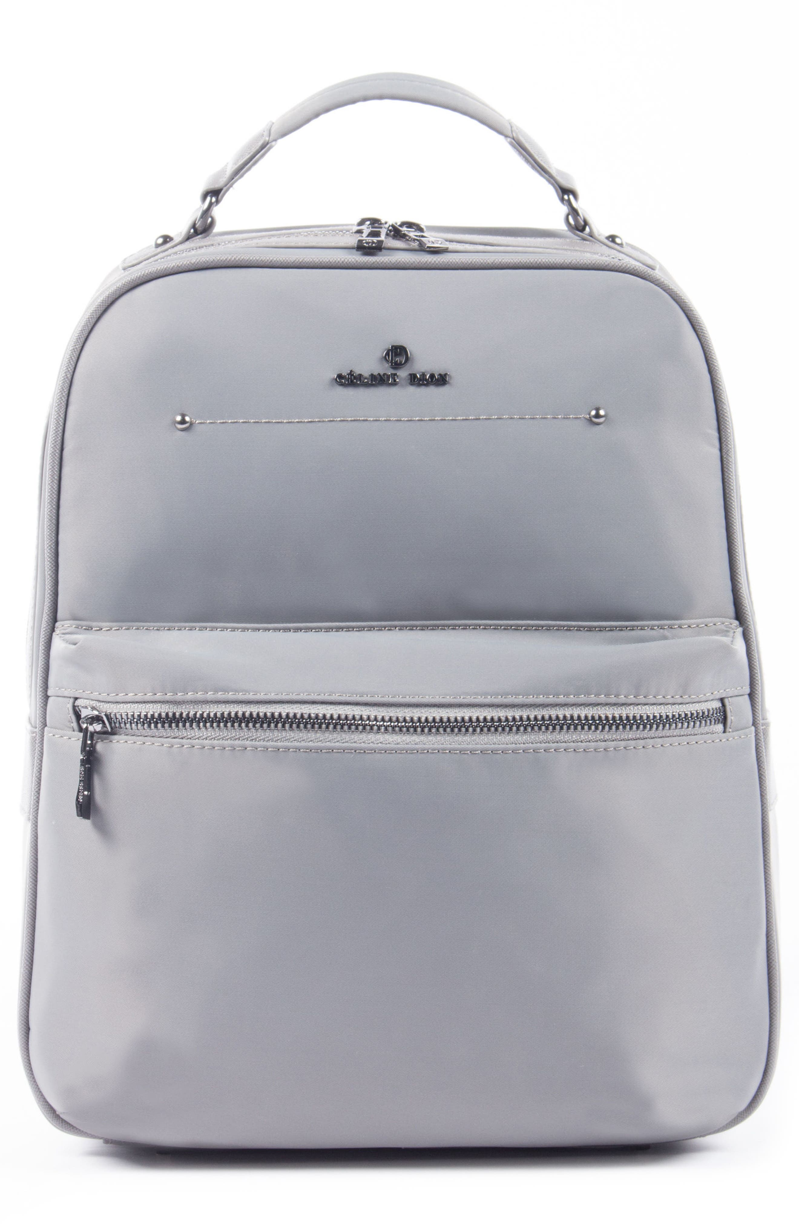 Céline Dion Presto Nylon Backpack,                             Main thumbnail 2, color,