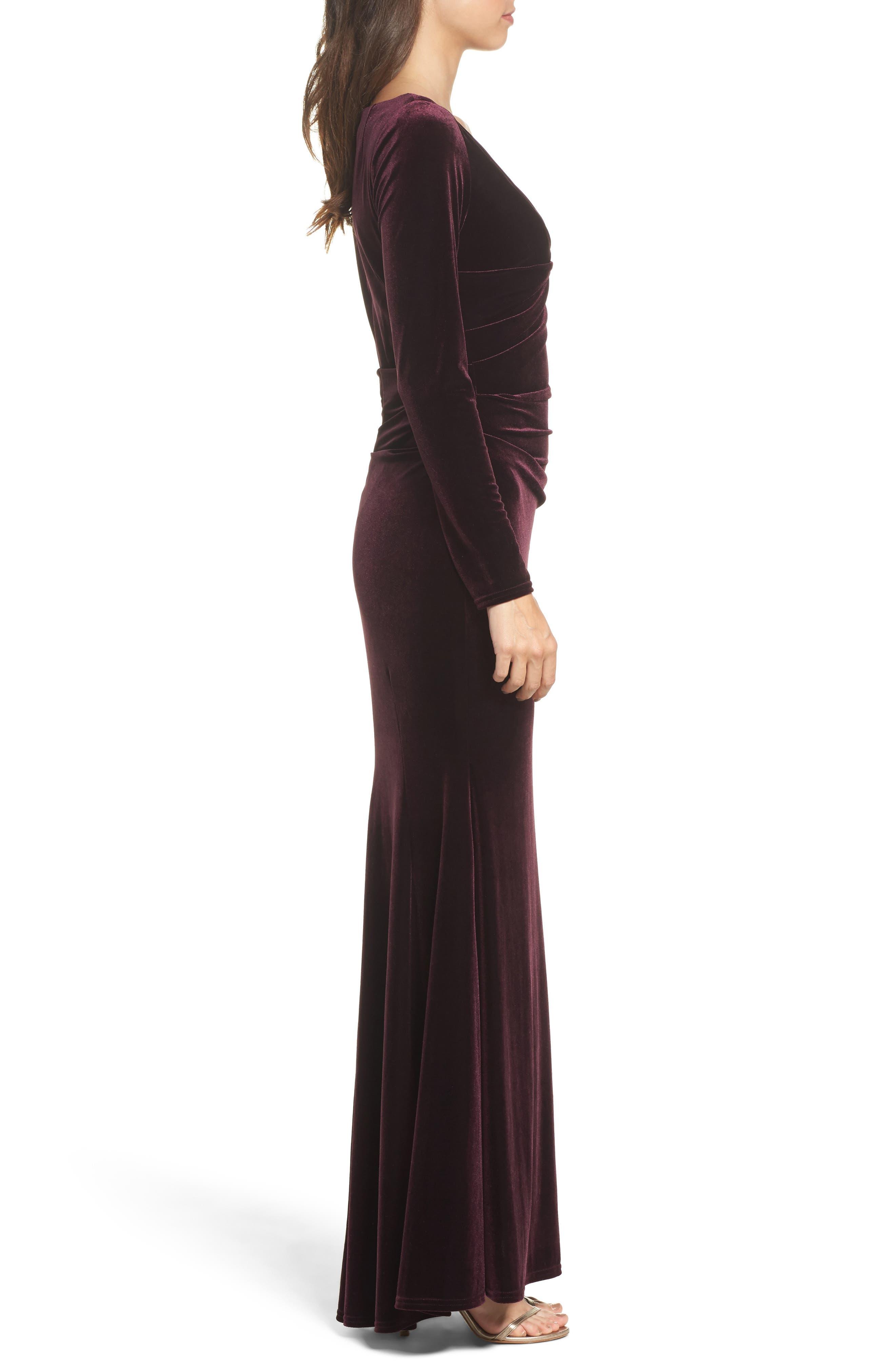 Velvet Gown,                             Alternate thumbnail 13, color,