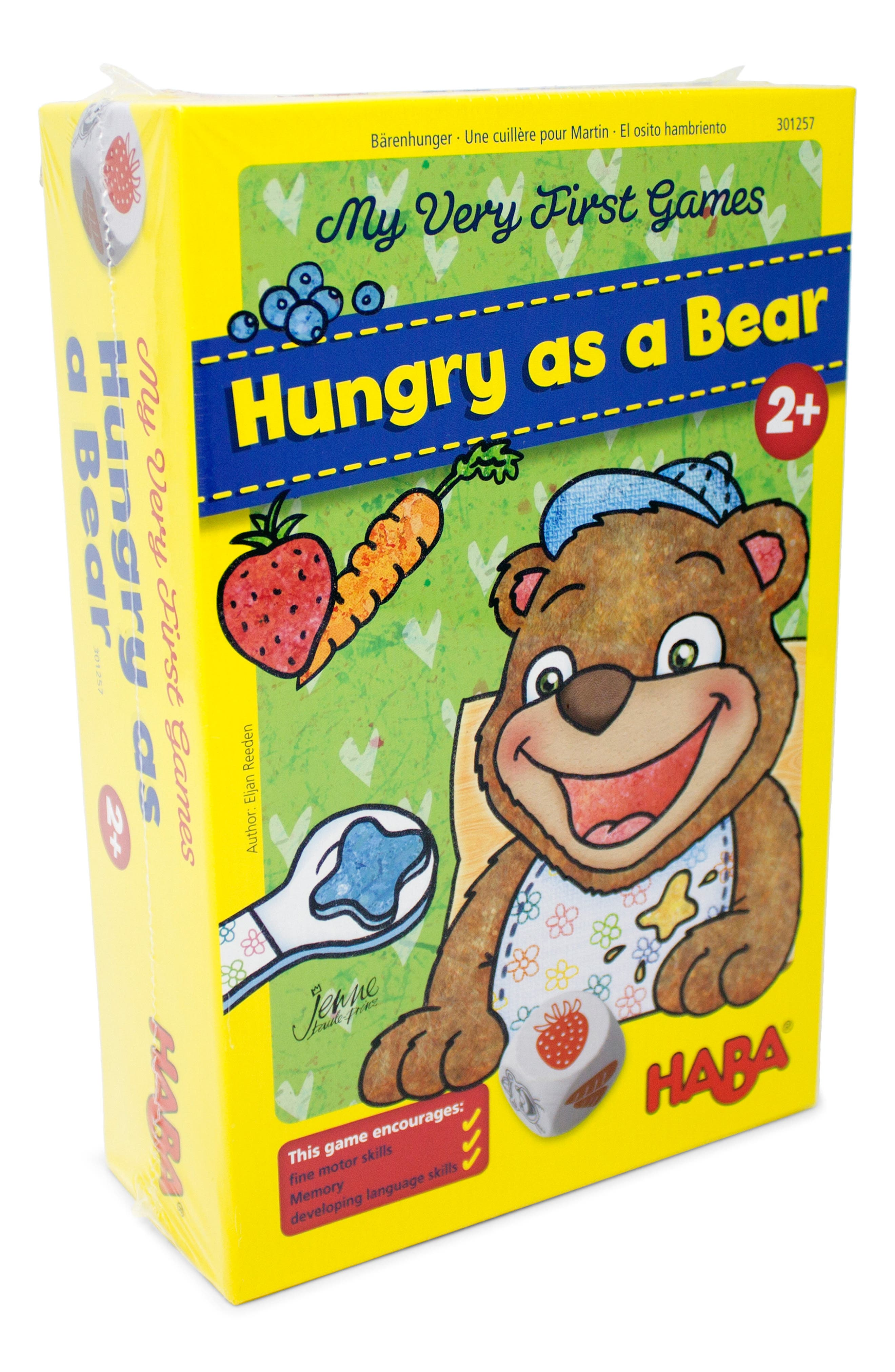 Infant Haba My Very First Games Hungry As A Bear Game
