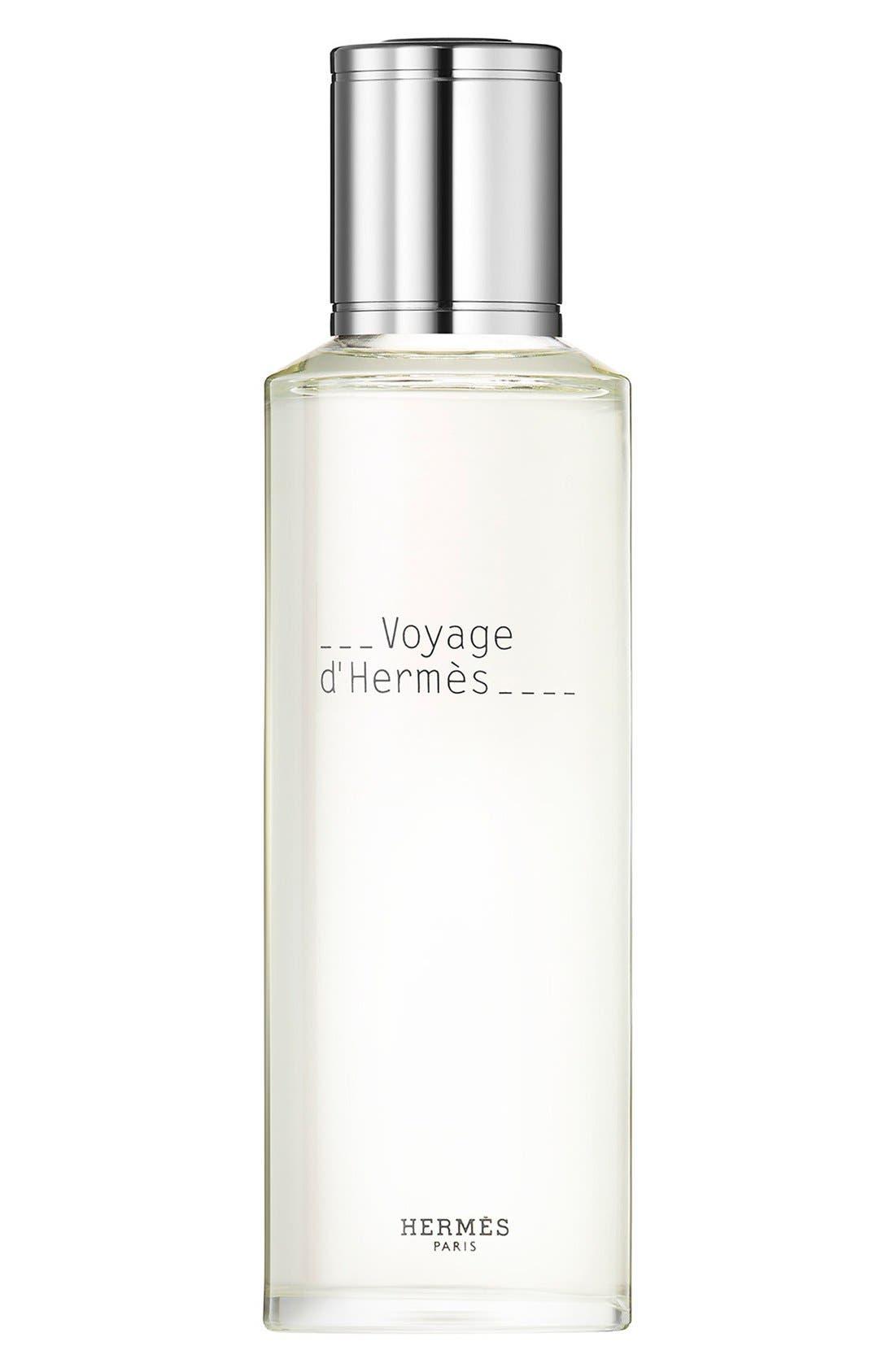 Hermès Voyage d'Hermès - Eau de toilette refill,                             Main thumbnail 1, color,                             000