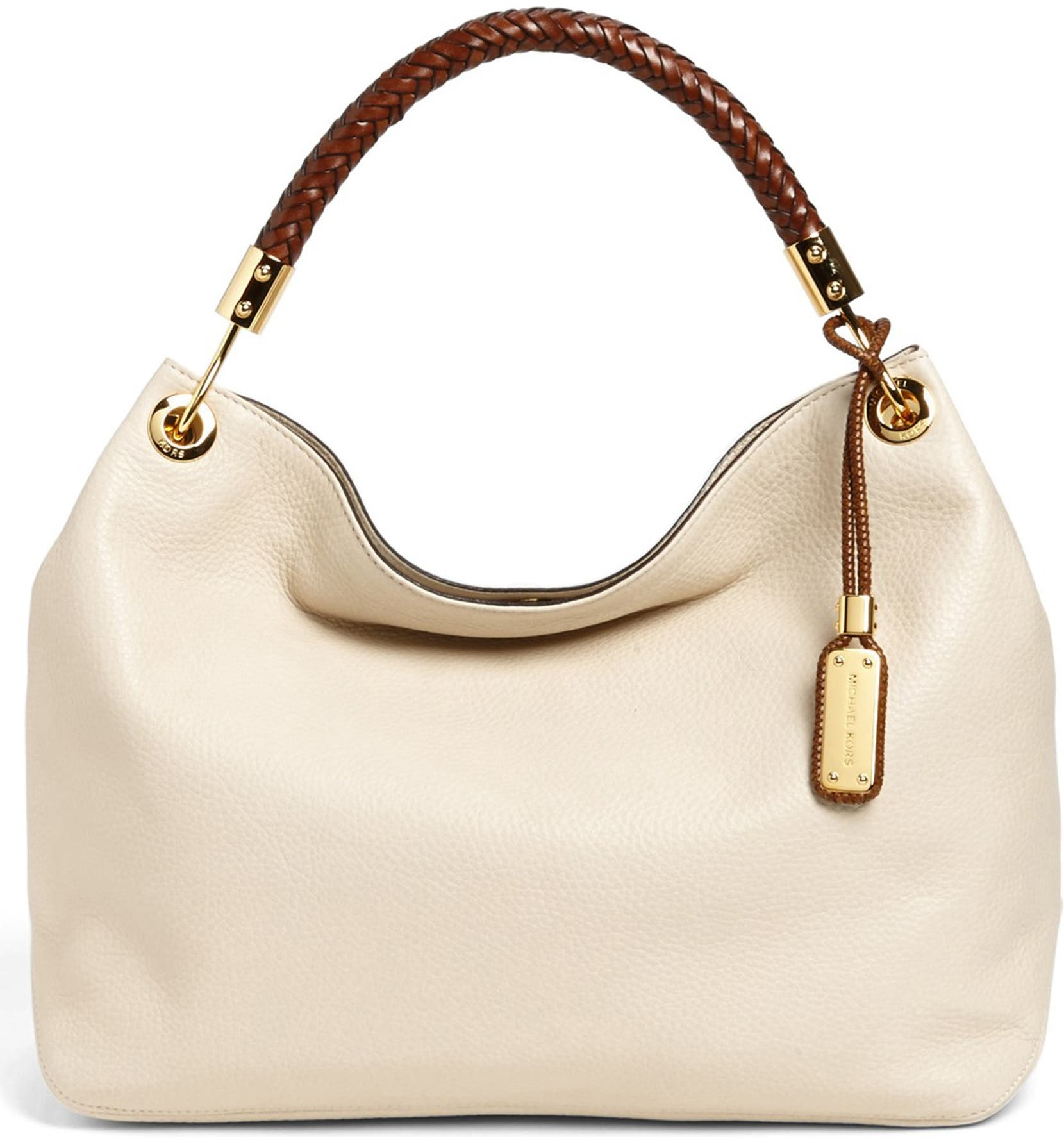 5728de3d1800 Michael Kors  Large Skorpios  Leather Shoulder Bag