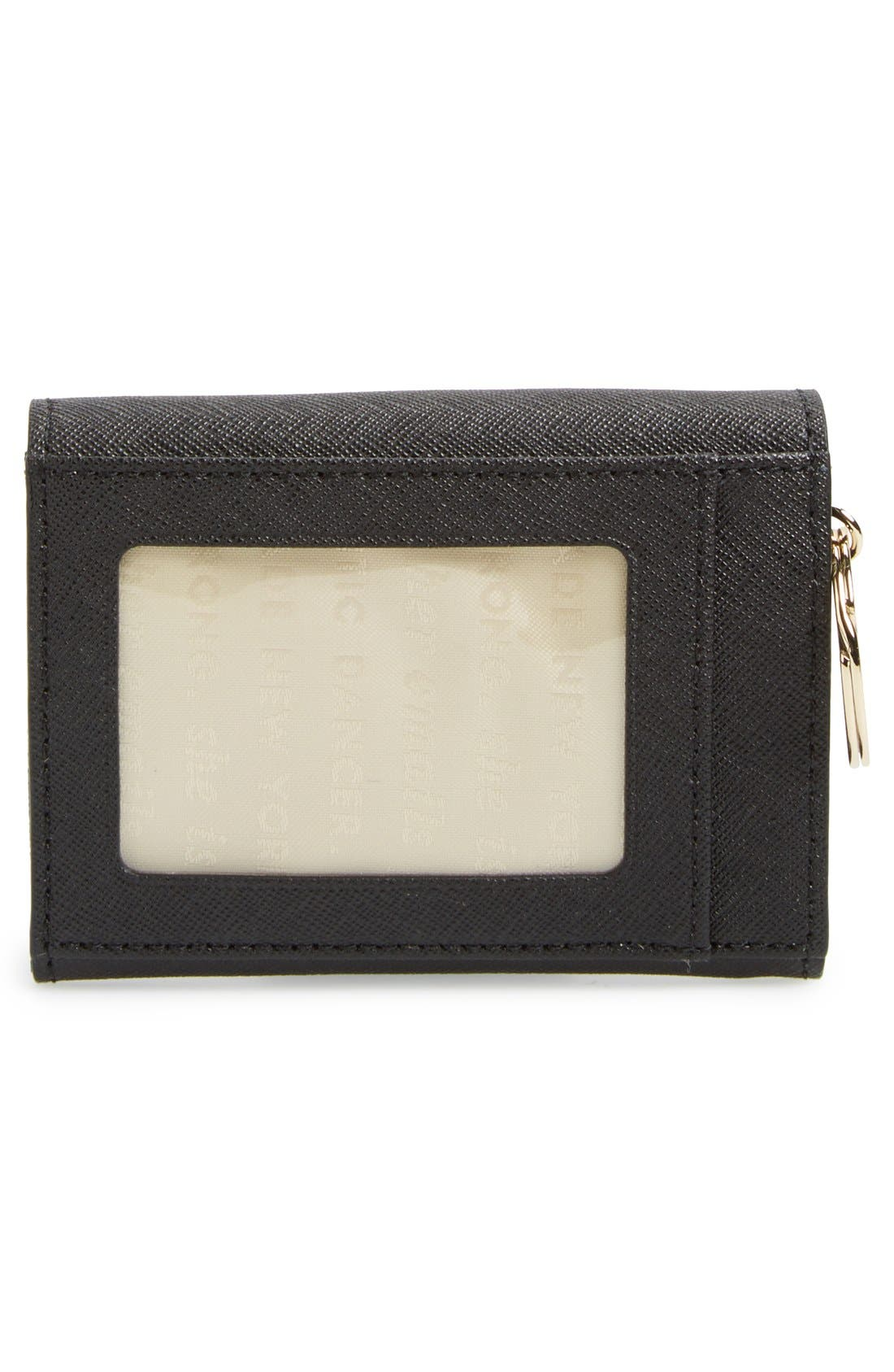 'lily avenue - darla' leather wallet,                             Alternate thumbnail 3, color,                             019