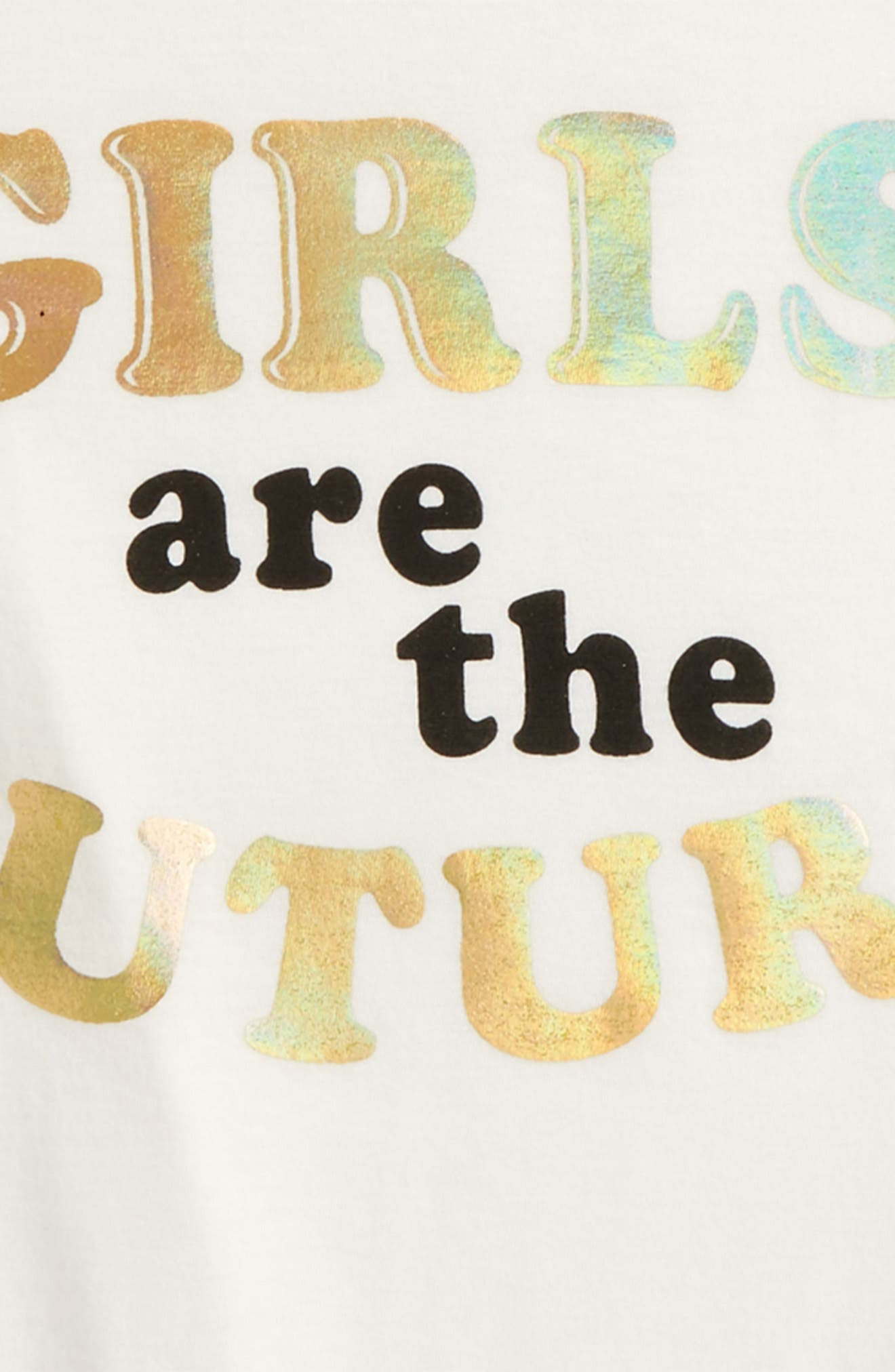 Girls Are The Future Tee,                             Alternate thumbnail 2, color,
