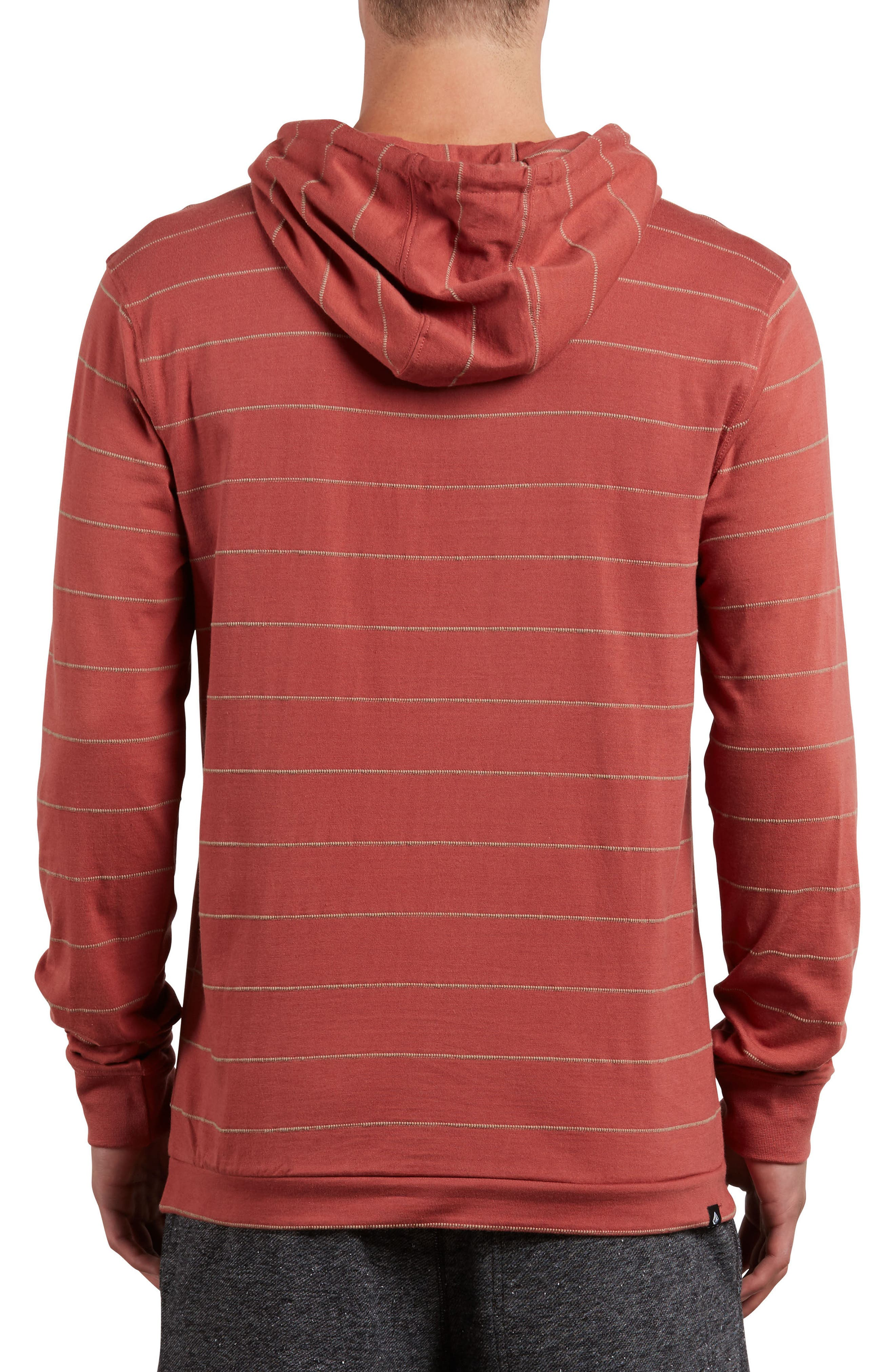 Hooded Knit Pullover,                             Alternate thumbnail 4, color,