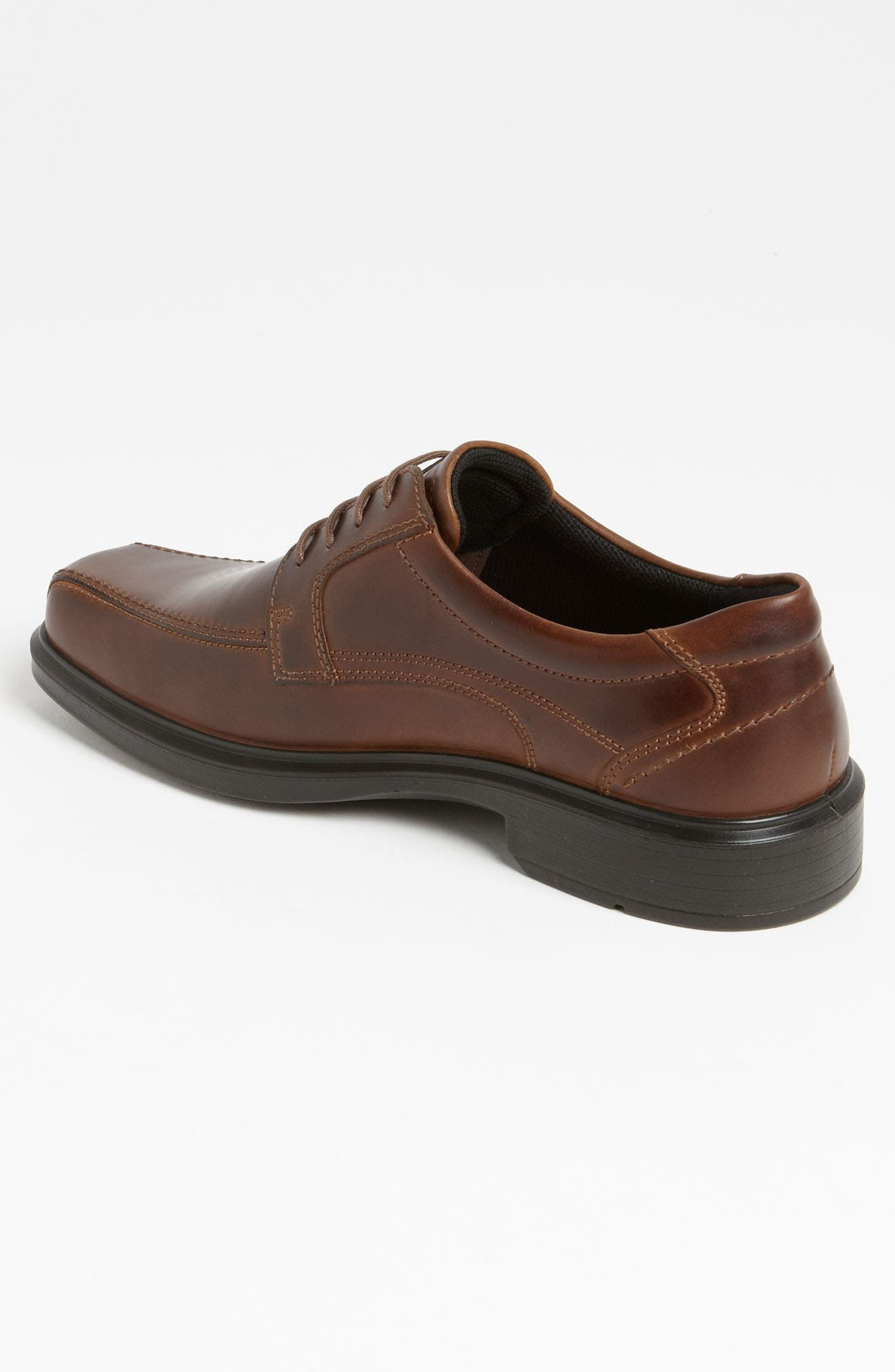 'Helsinki' Square Bike Toe Oxford,                             Alternate thumbnail 4, color,                             COCOA BROWN