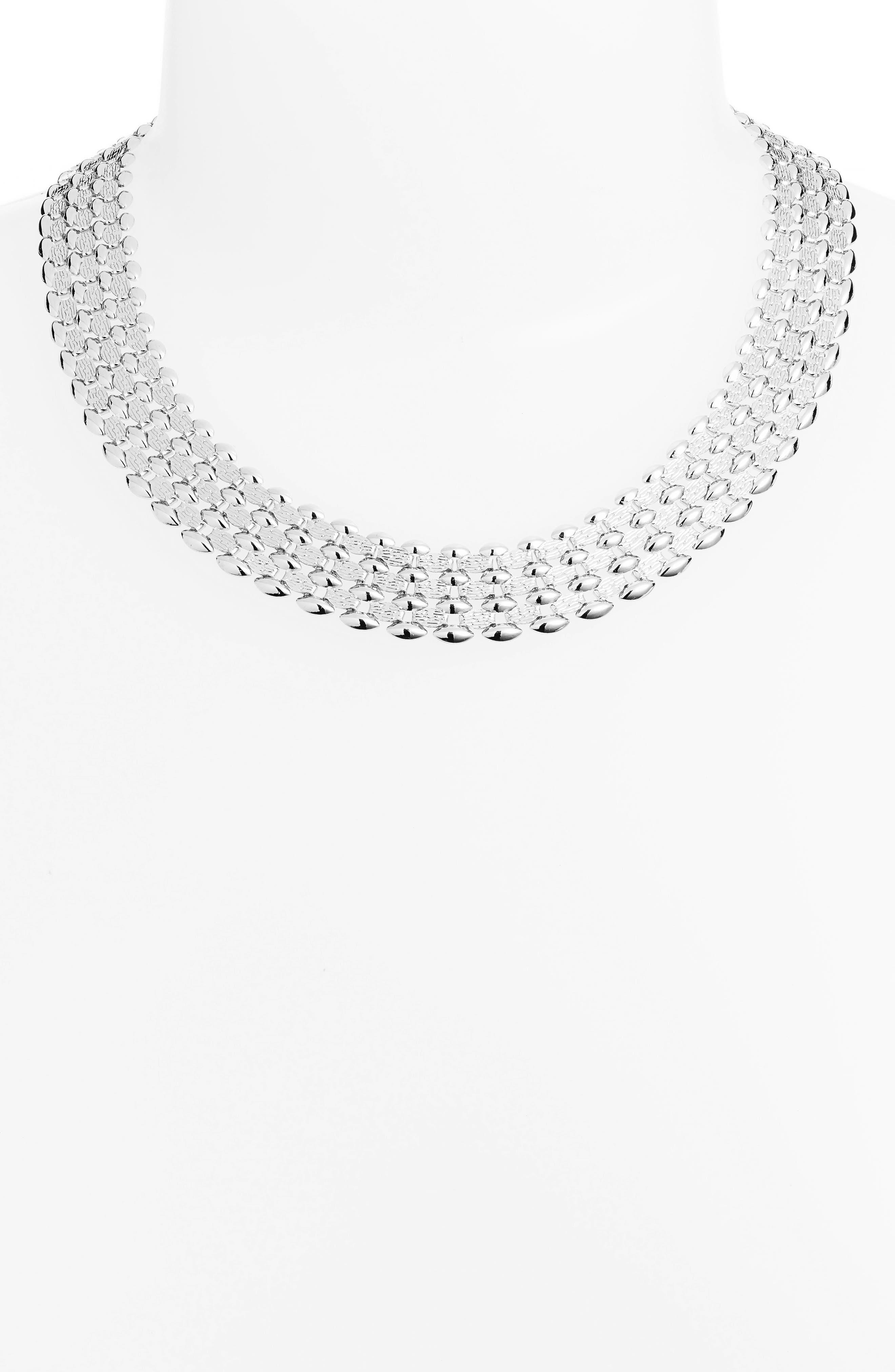 Glimmer Chain Collar,                             Alternate thumbnail 2, color,                             040