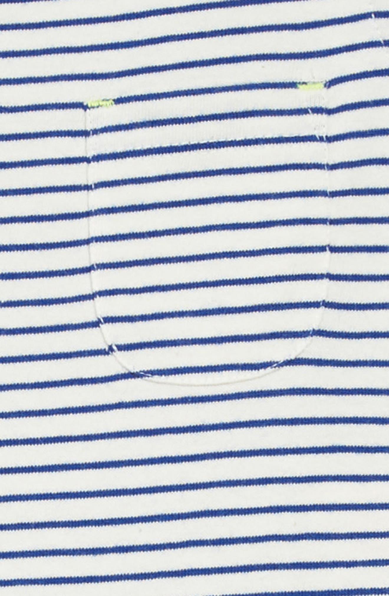 Drop-Waist Jersey Dress,                             Alternate thumbnail 3, color,