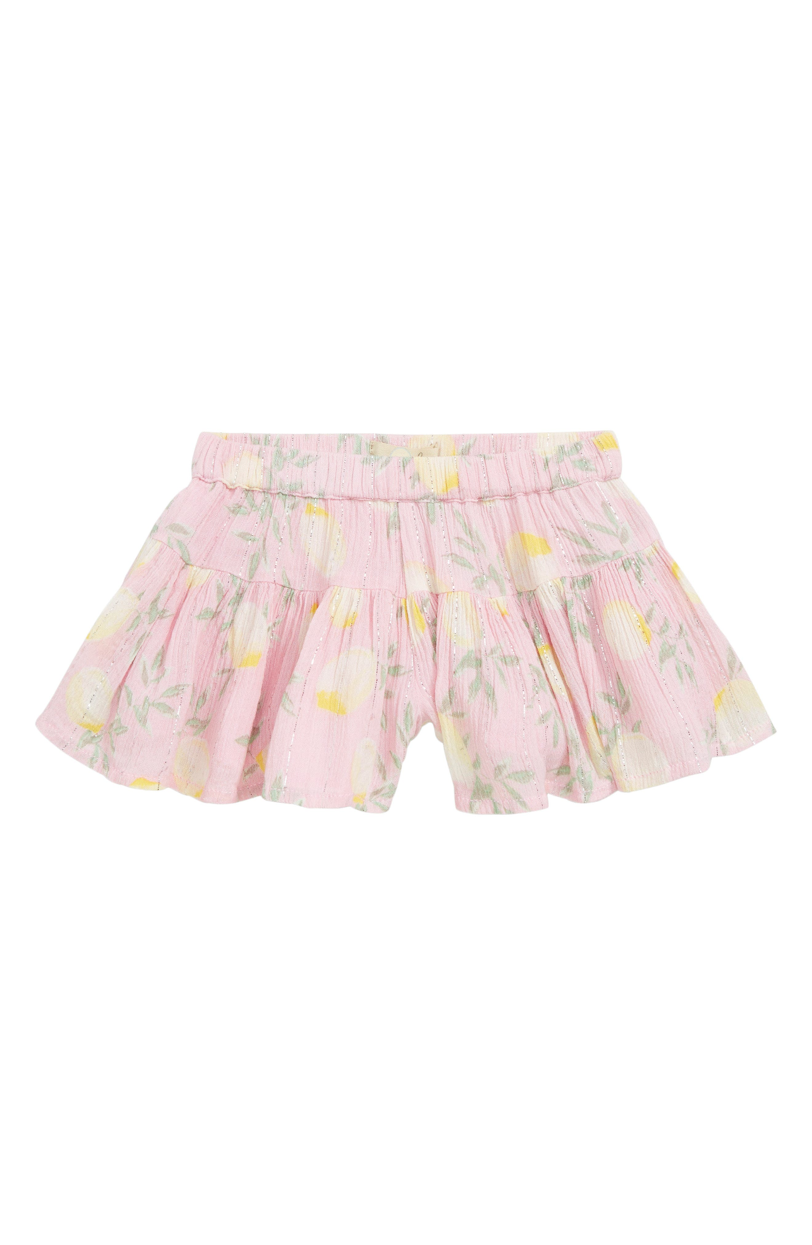 Infant Girls Peek Alexa Skort Size S (36m)  Pink