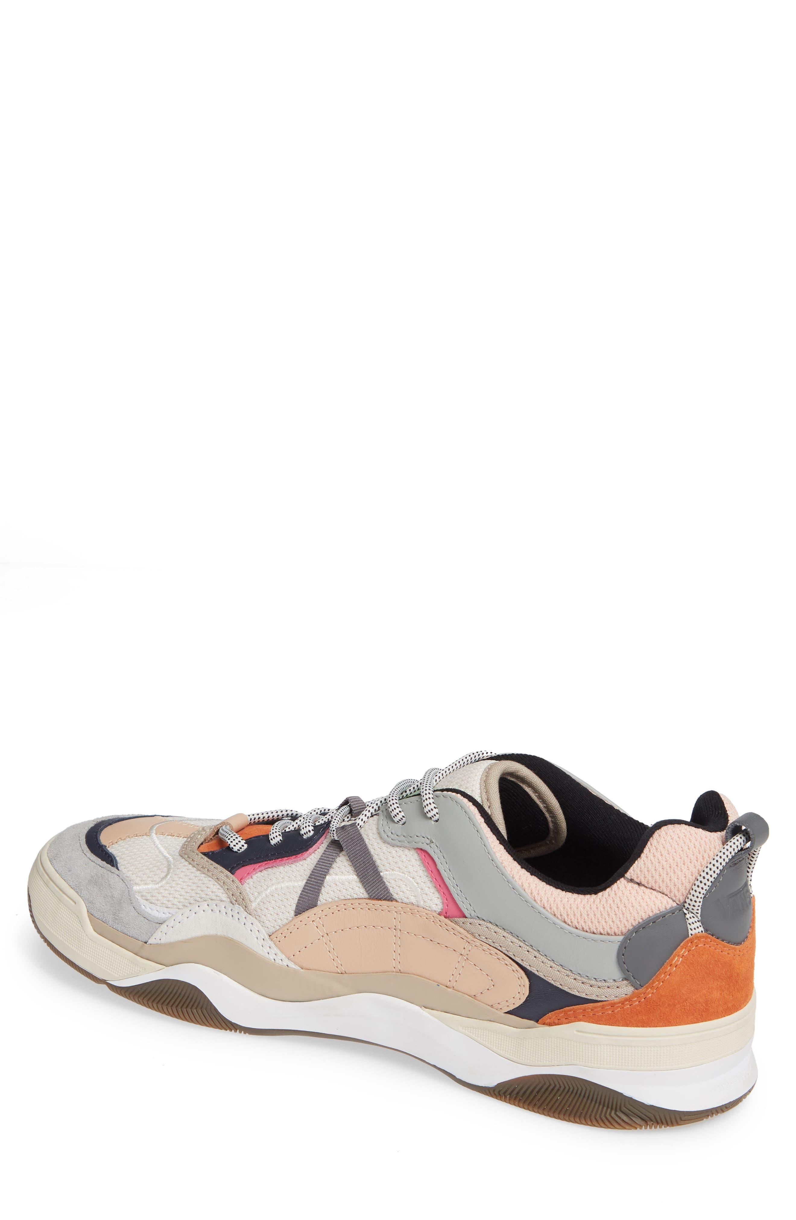 VANS,                             Varix WC Sneaker,                             Alternate thumbnail 2, color,                             TURTLEDOVE/ TRUE WHITE LEATHER