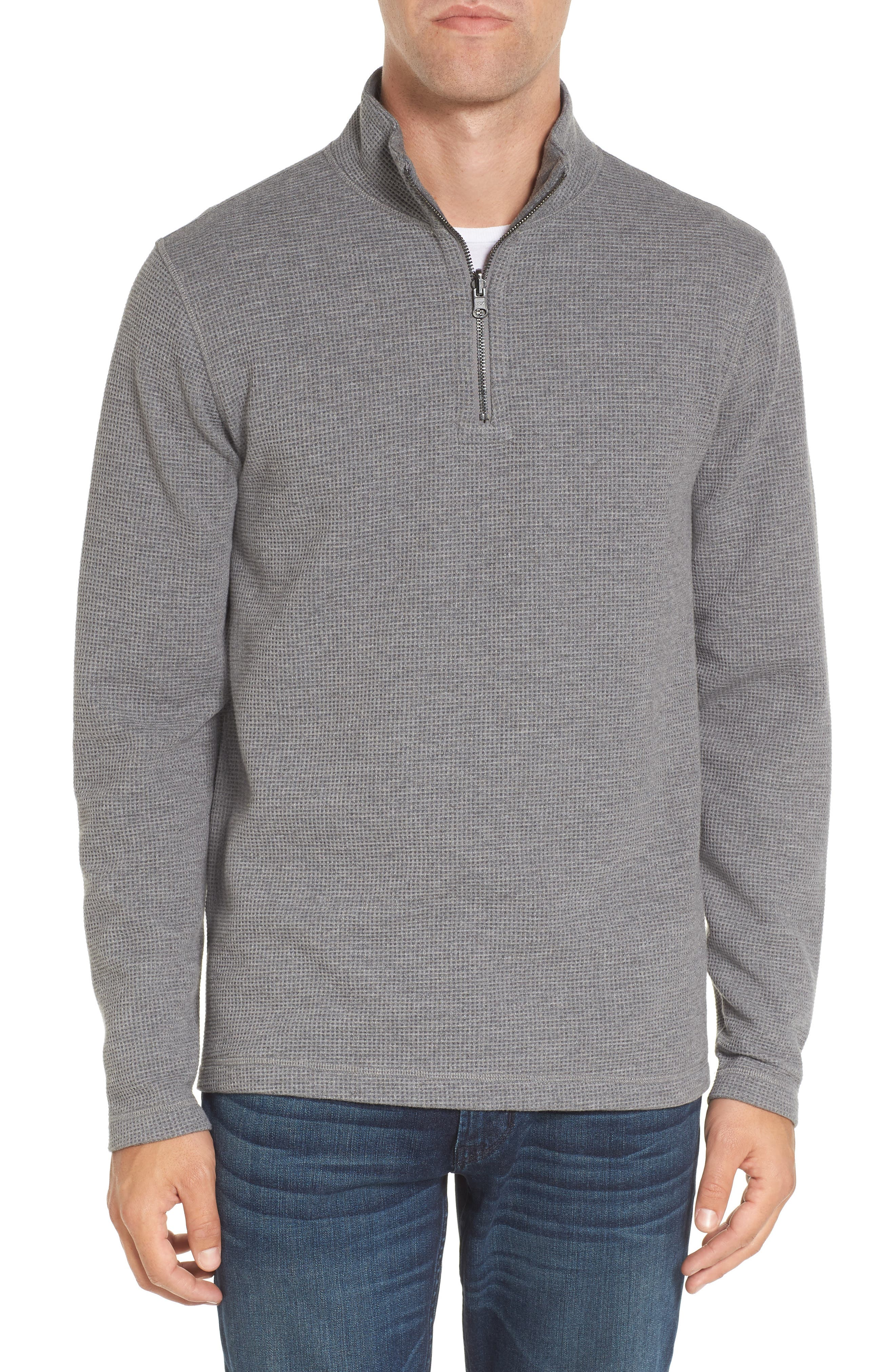 Reversible Quarter Zip Pullover,                         Main,                         color, 069