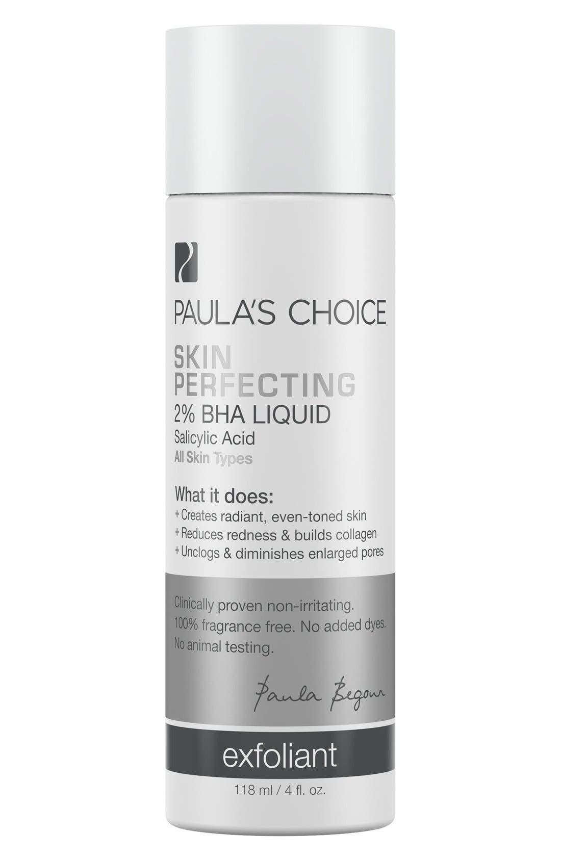 Skin Perfecting 2% BHA Liquid,                             Main thumbnail 1, color,                             NO COLOR