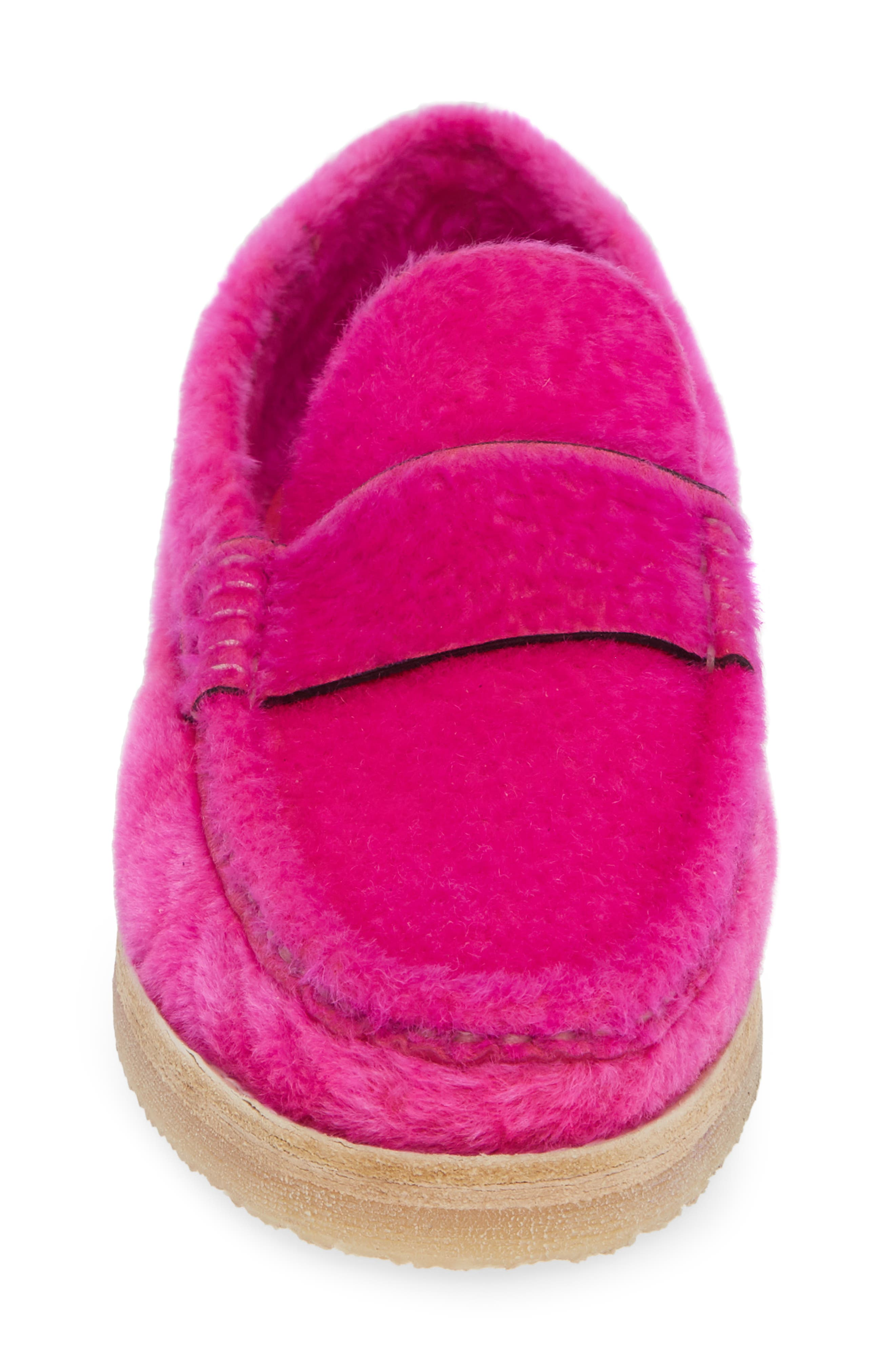 Bromley Genuine Shearling Loafer,                             Alternate thumbnail 13, color,