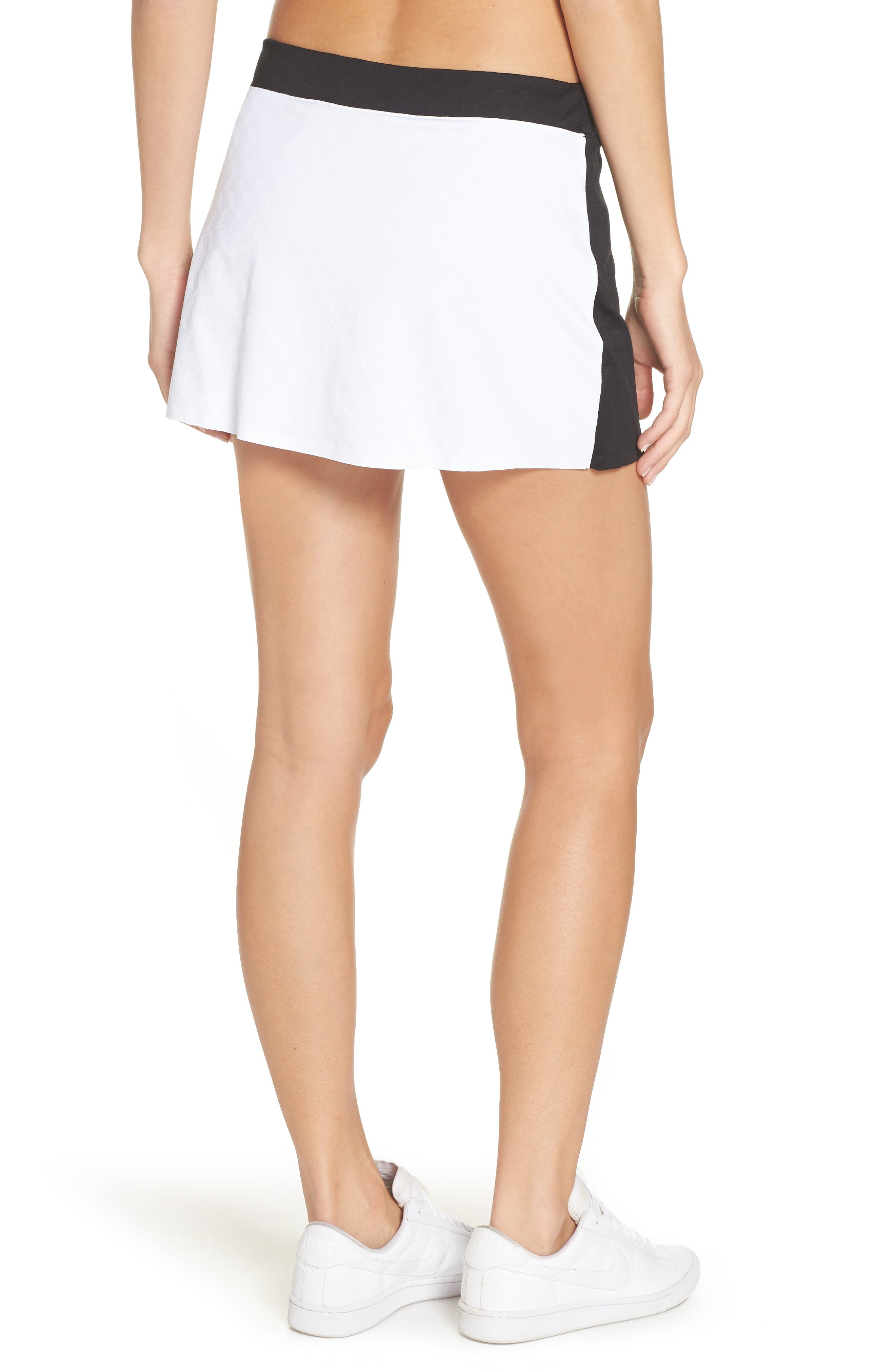 Court Maria Tennis Skirt,                             Alternate thumbnail 2, color,                             010
