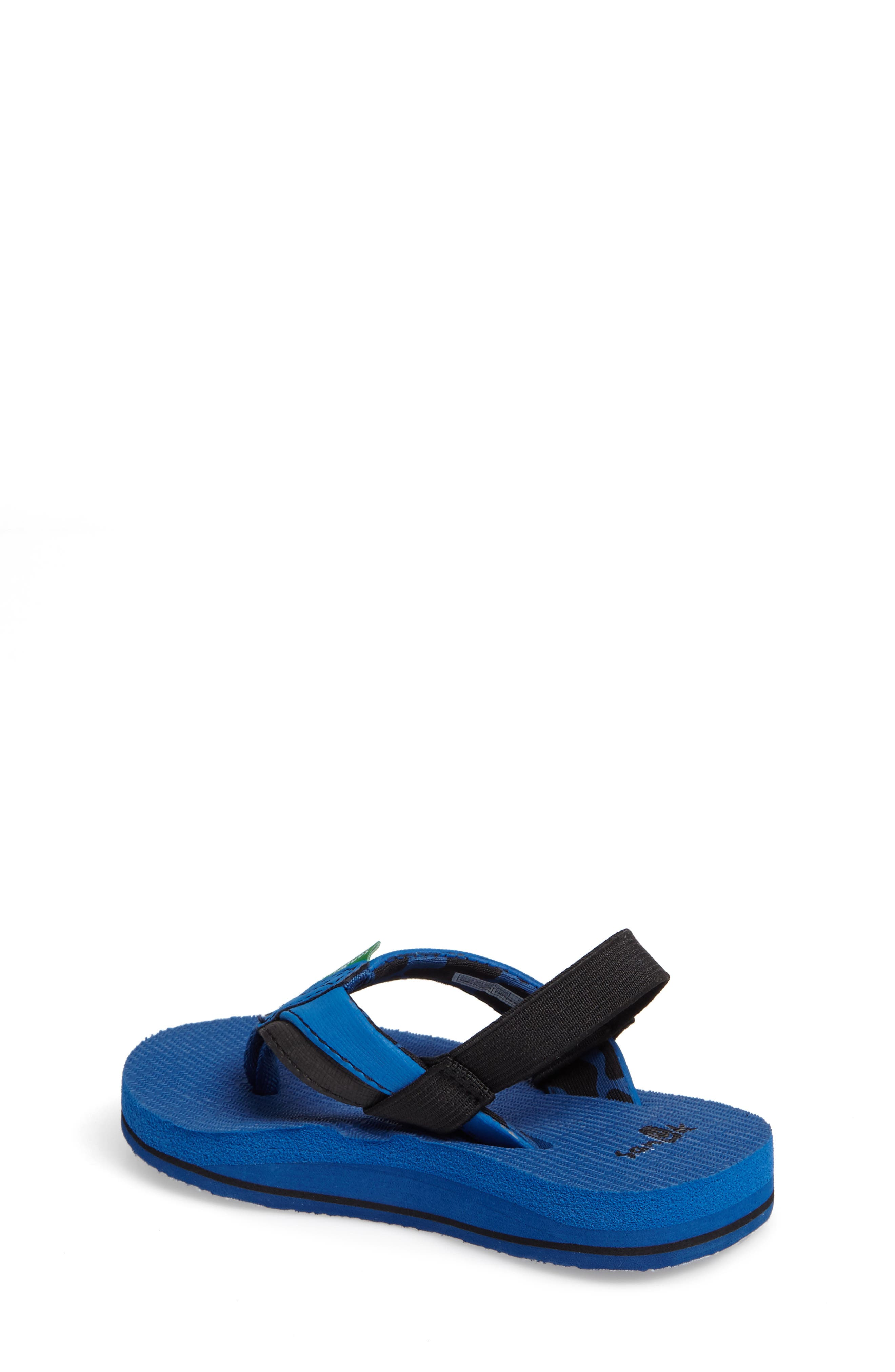'Rootbeer Cozy' Lightweight Flip Flop Sandal,                             Alternate thumbnail 8, color,