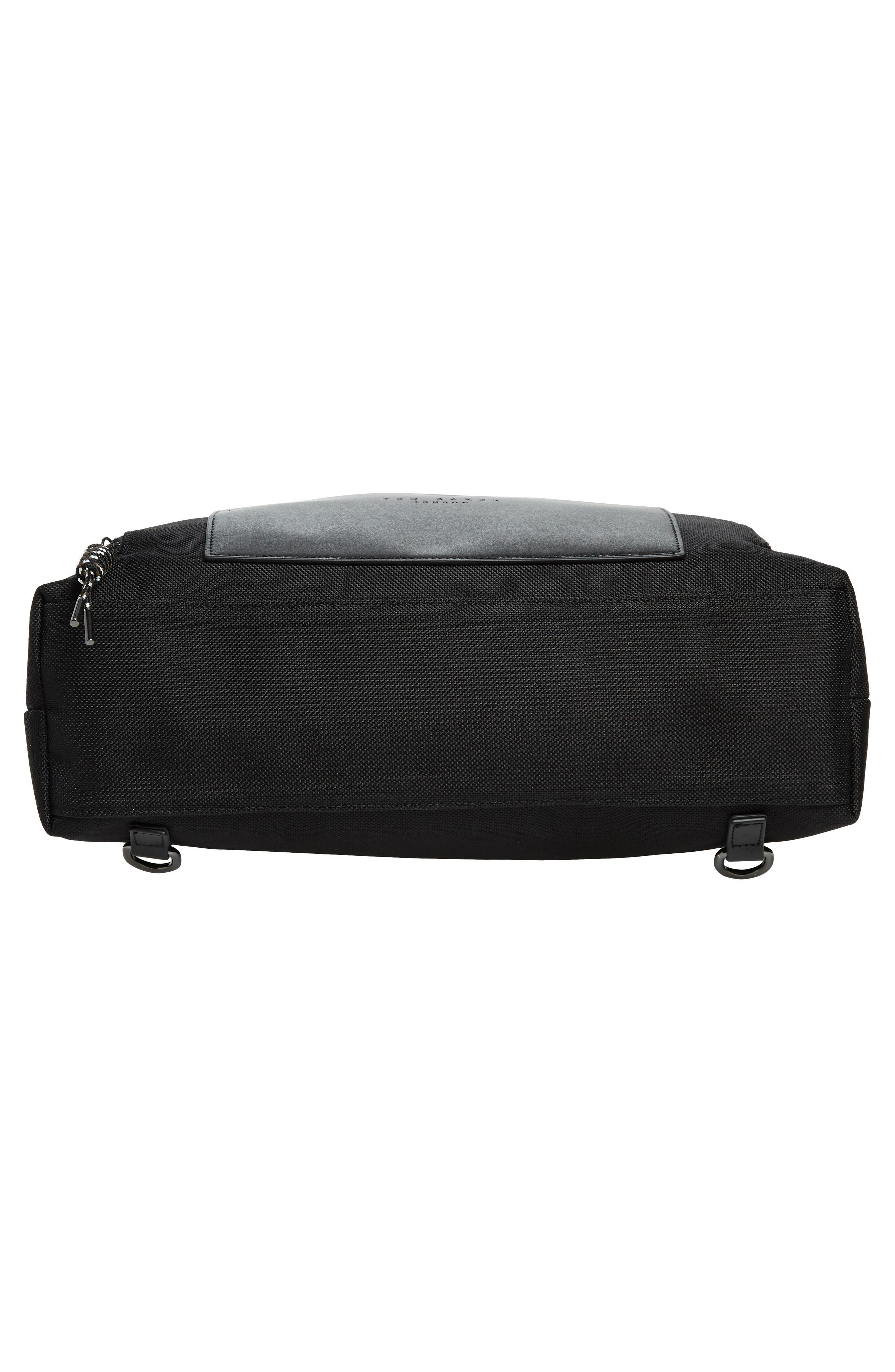 Tidee Convertible Backpack,                             Alternate thumbnail 6, color,                             BLACK