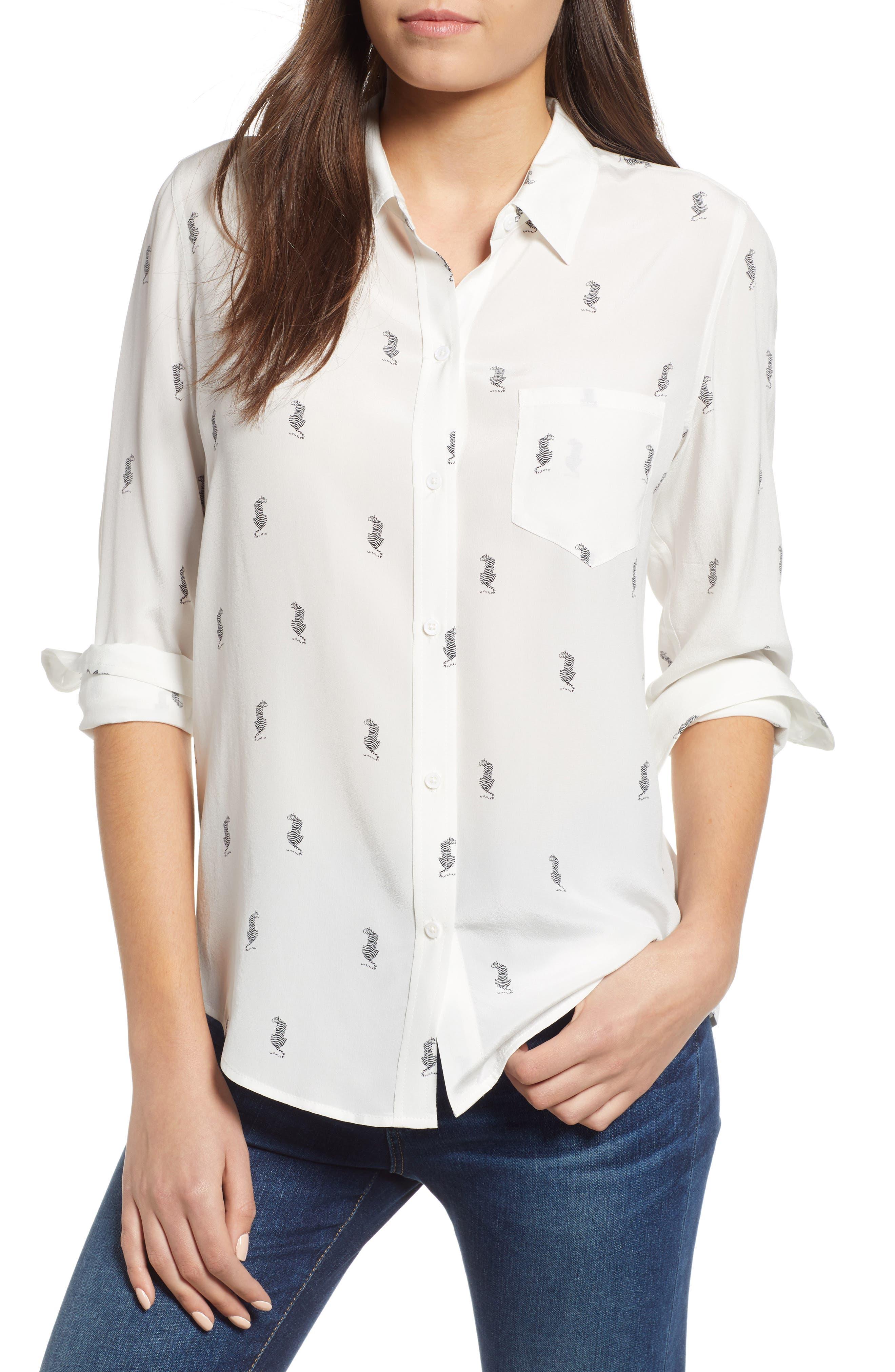 Kate Print Shirt,                             Main thumbnail 6, color,