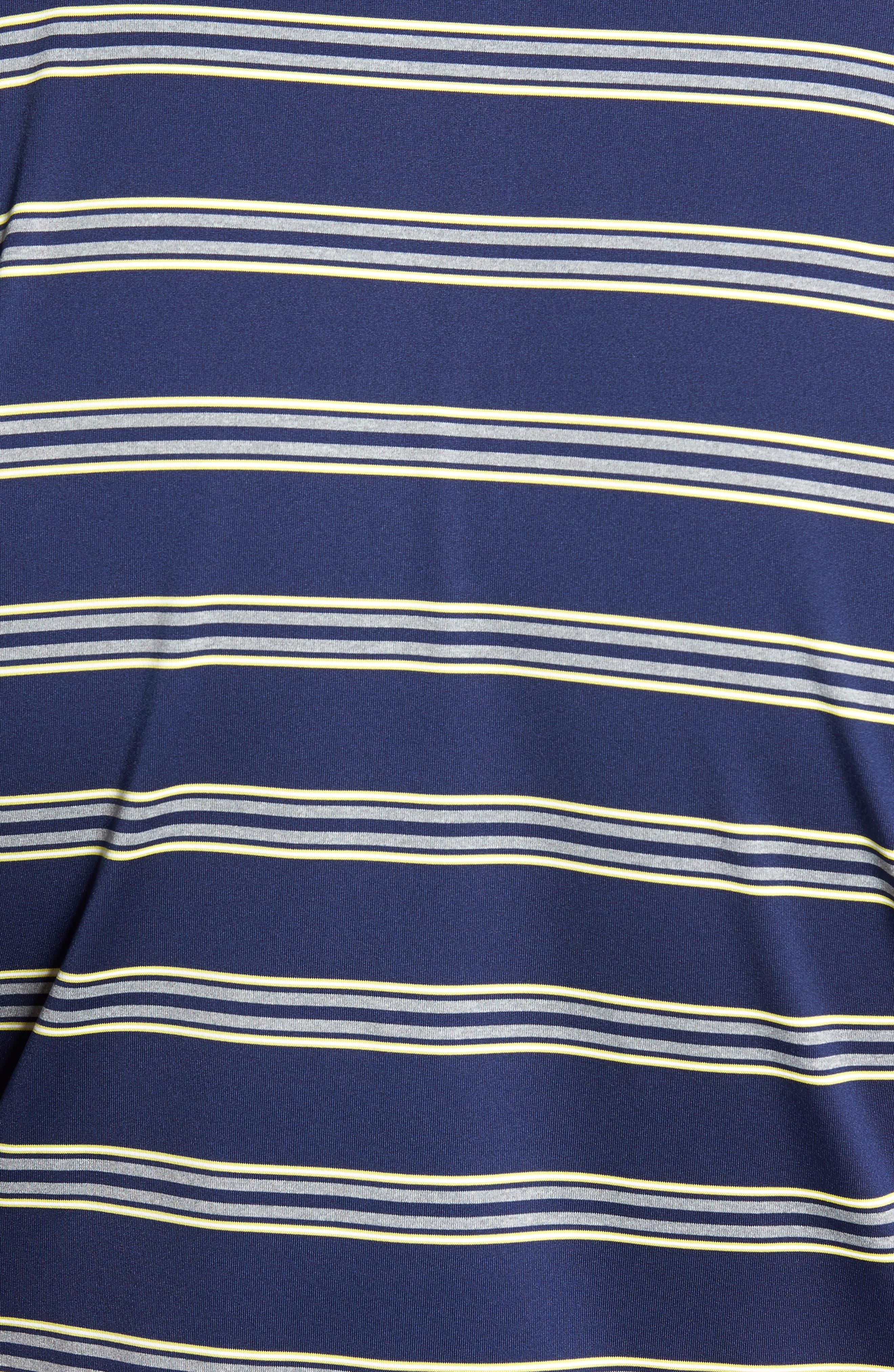XH2O Wren Heather Stripe Polo,                             Alternate thumbnail 14, color,