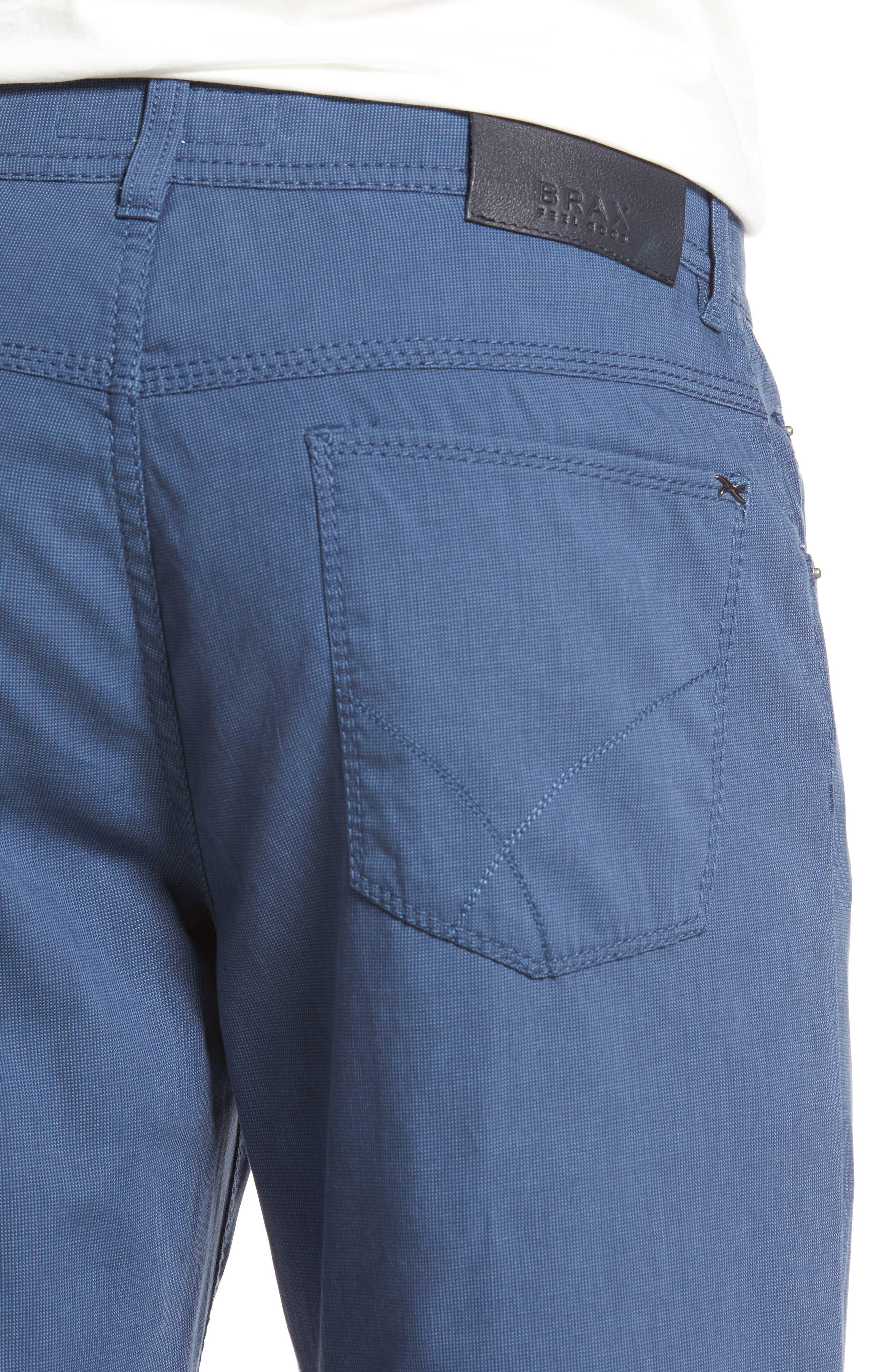 Sensation Stretch Trousers,                             Alternate thumbnail 4, color,                             BLUE