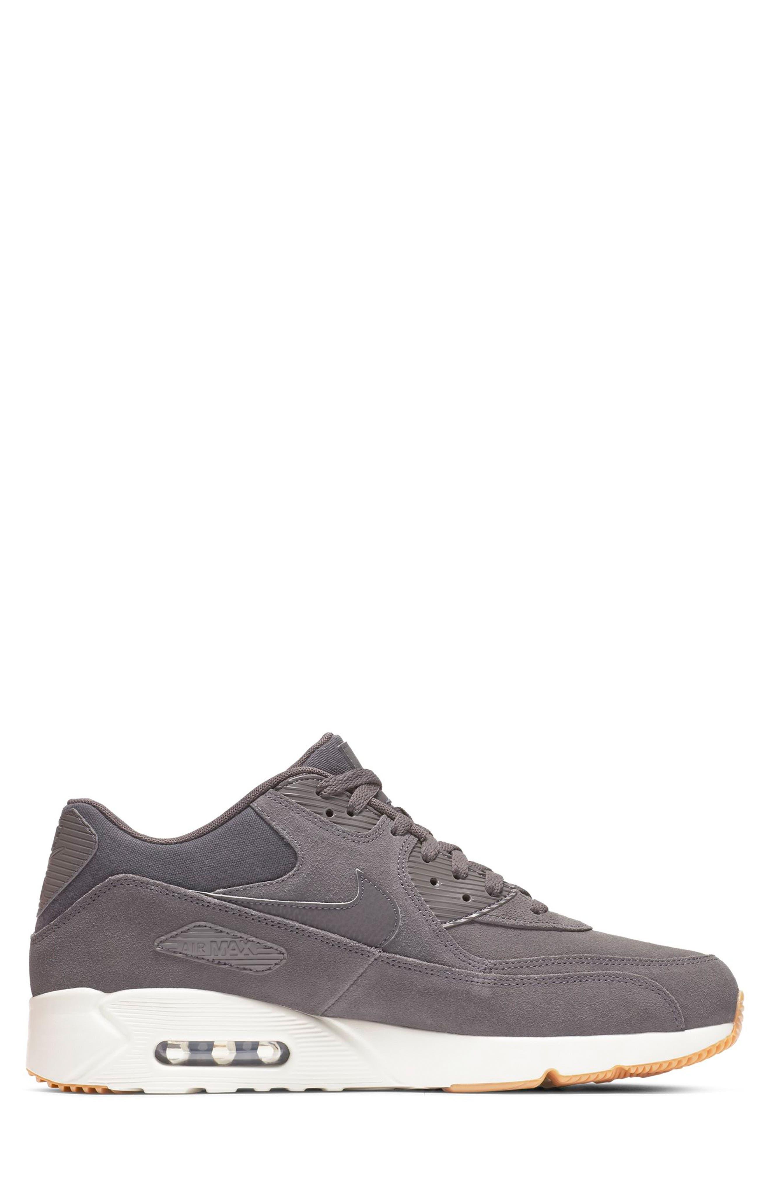 Air Max 90 Ultra 2.0 Sneaker,                             Alternate thumbnail 2, color,                             THUNDER GREY/ GREY/ LIGHT BONE