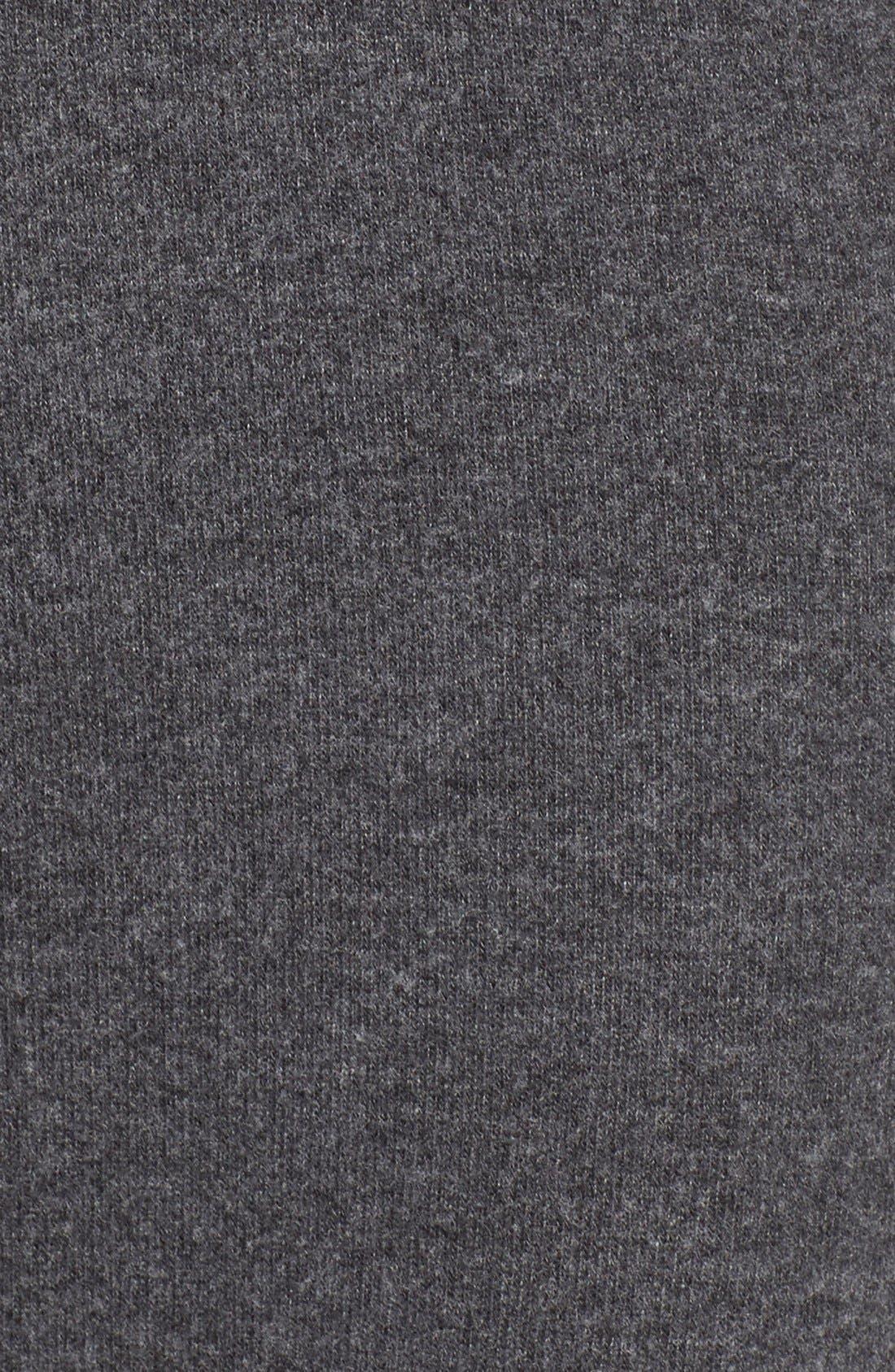 'Nate' Crop Sweatpants,                             Alternate thumbnail 4, color,                             001