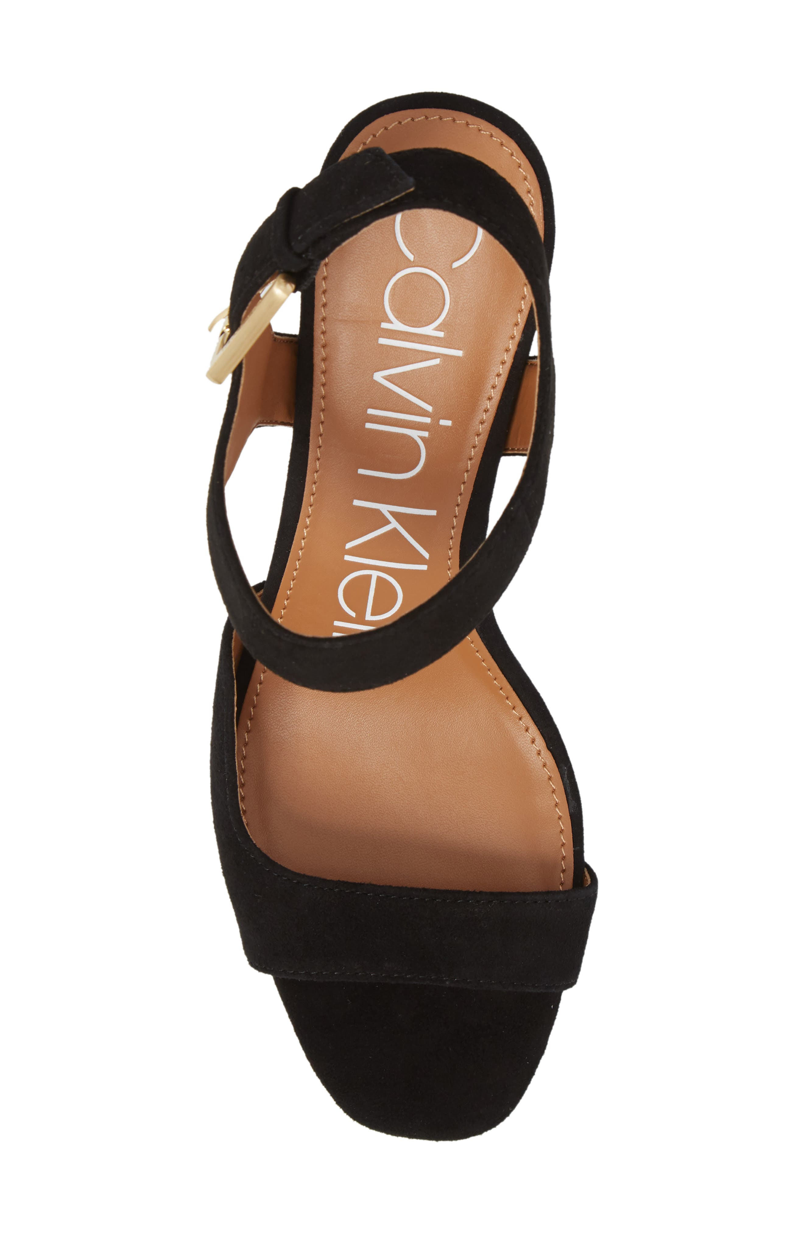 Chantay Asymmetrical Sandal,                             Alternate thumbnail 5, color,                             001