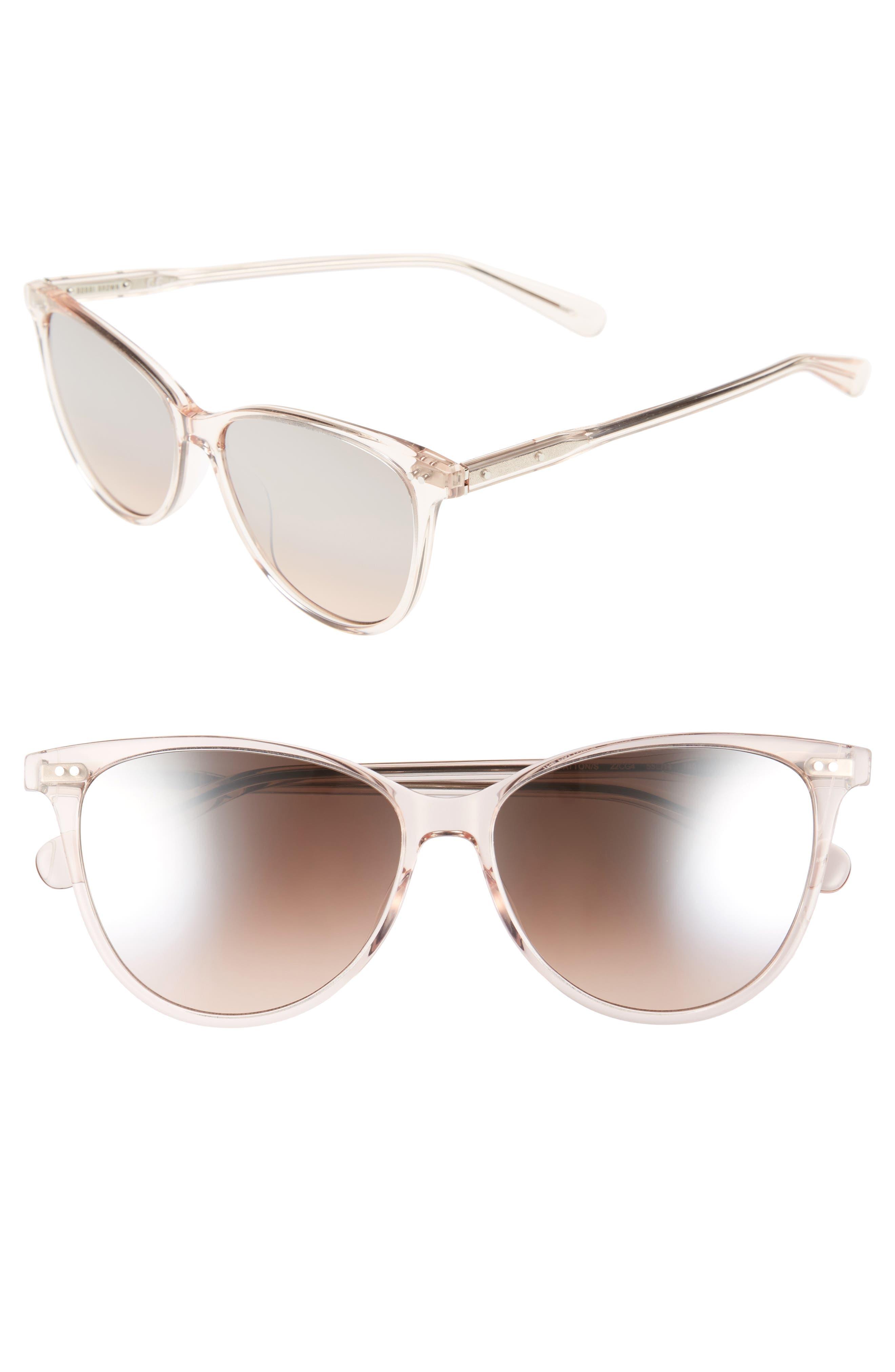 The Patton 55mm Gradient Cat Eye Sunglasses,                             Main thumbnail 2, color,
