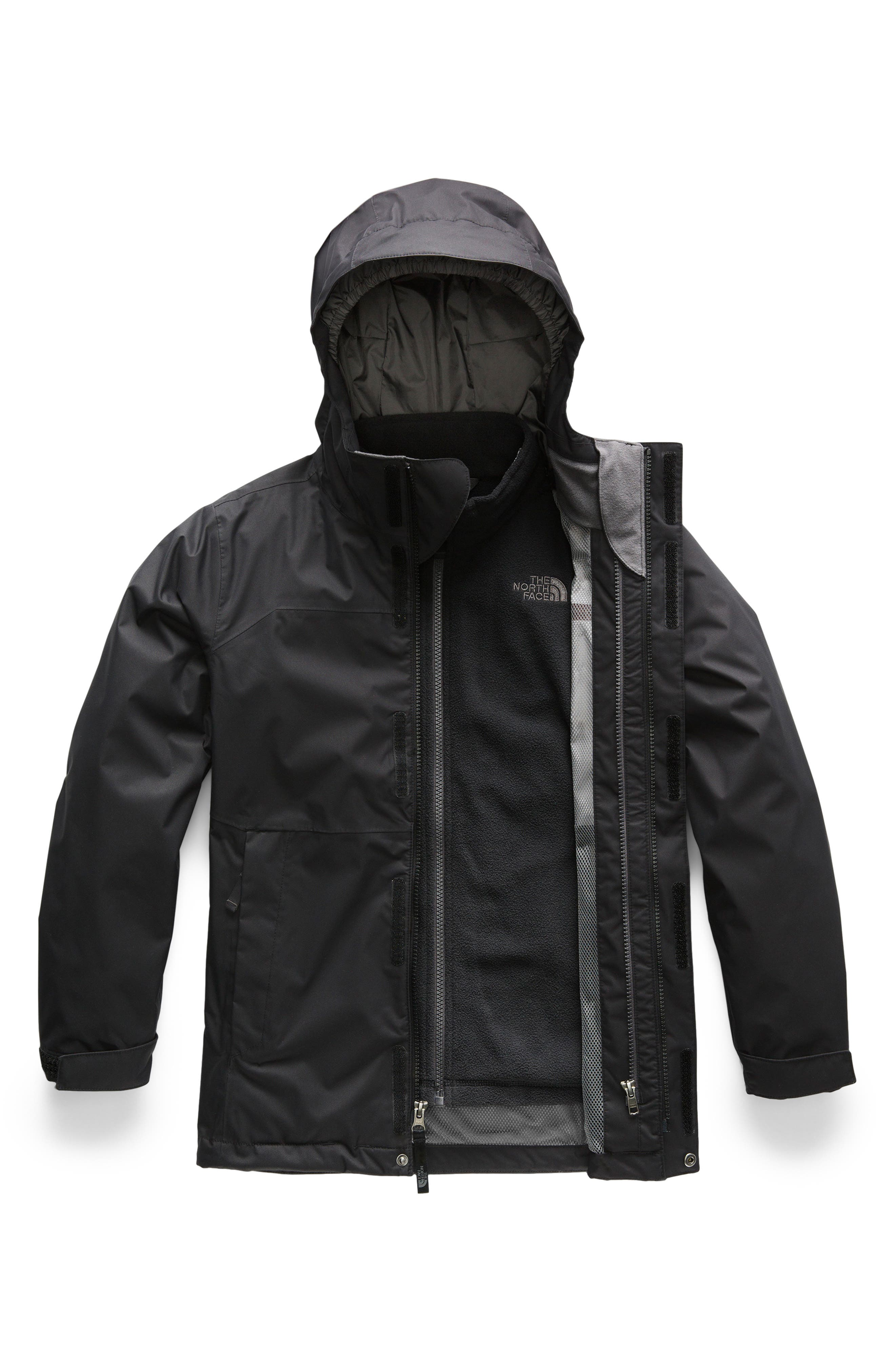 Vortex TriClimate<sup>®</sup> 3-in-1 Jacket,                         Main,                         color, TNF BLACK/ GRAPHITE GREY