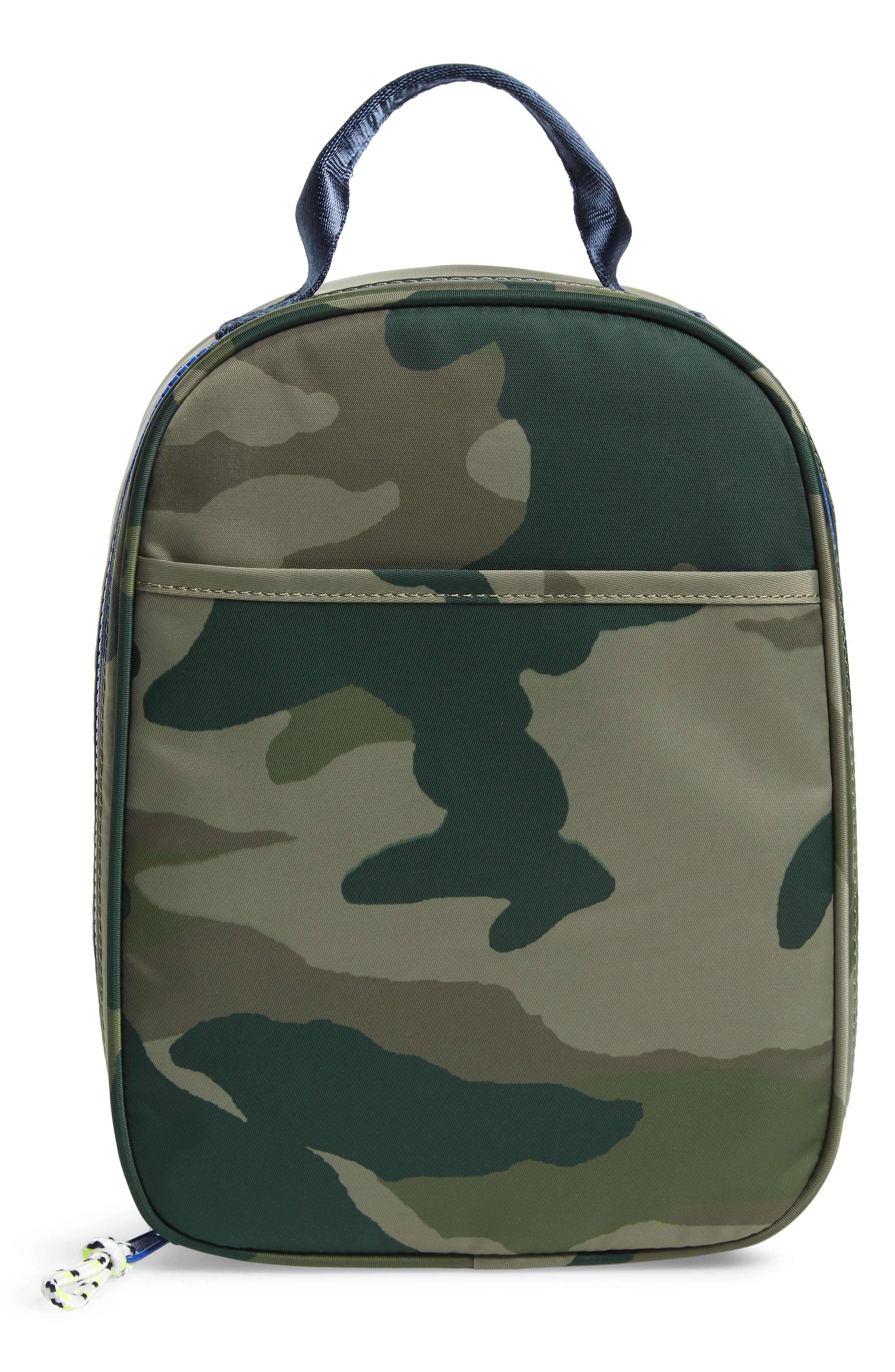 Camo Print Lunch Box,                             Main thumbnail 1, color,                             300