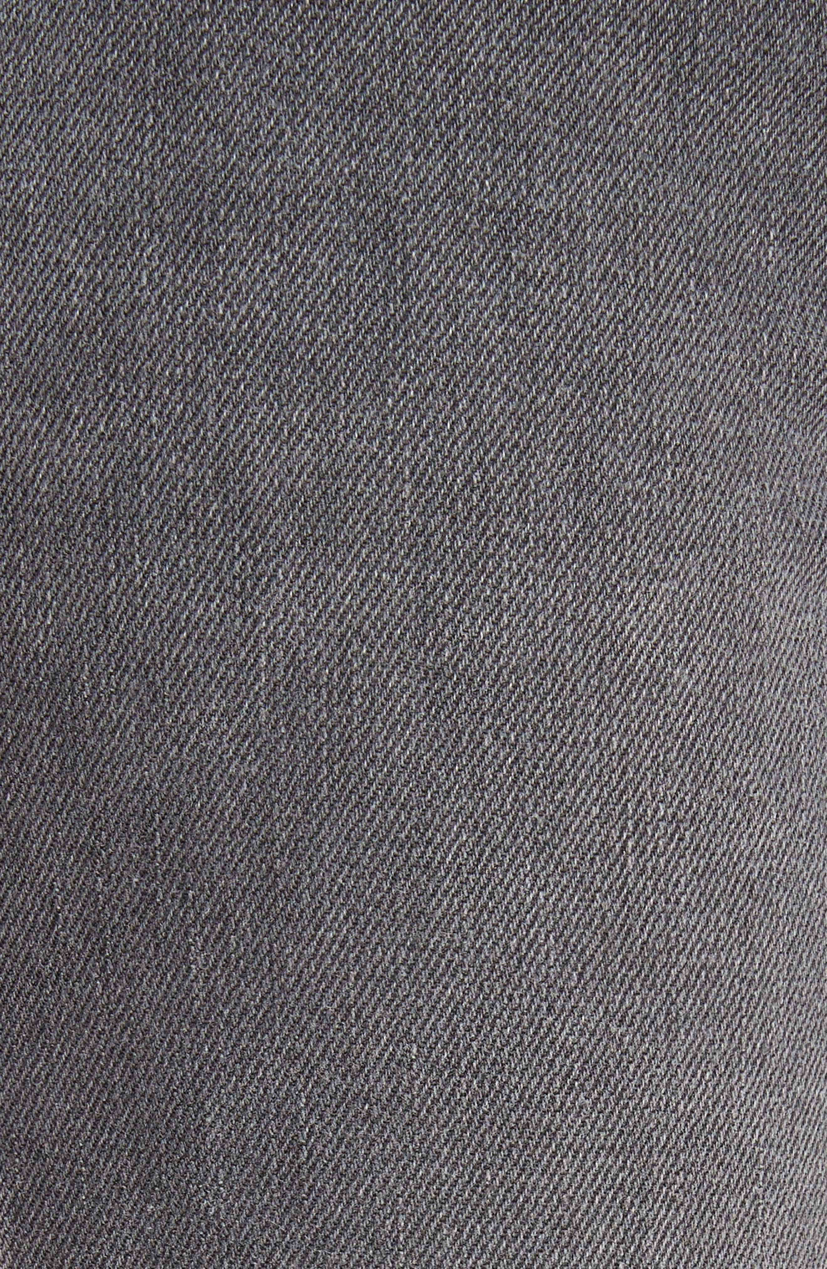Serena High Waist Crop Flare Jeans,                             Alternate thumbnail 5, color,