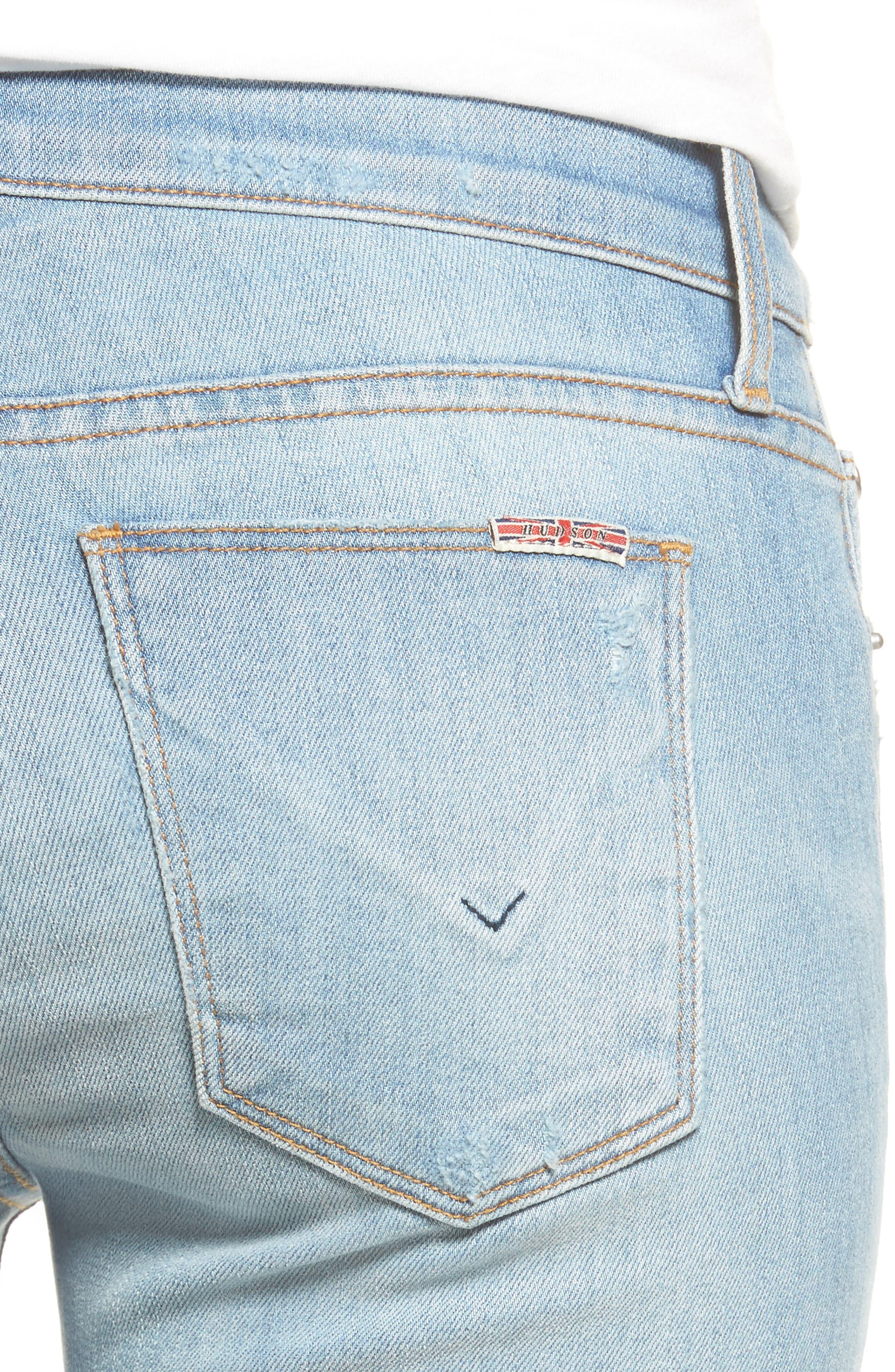 Krista Ankle Super Skinny Jeans,                             Alternate thumbnail 9, color,