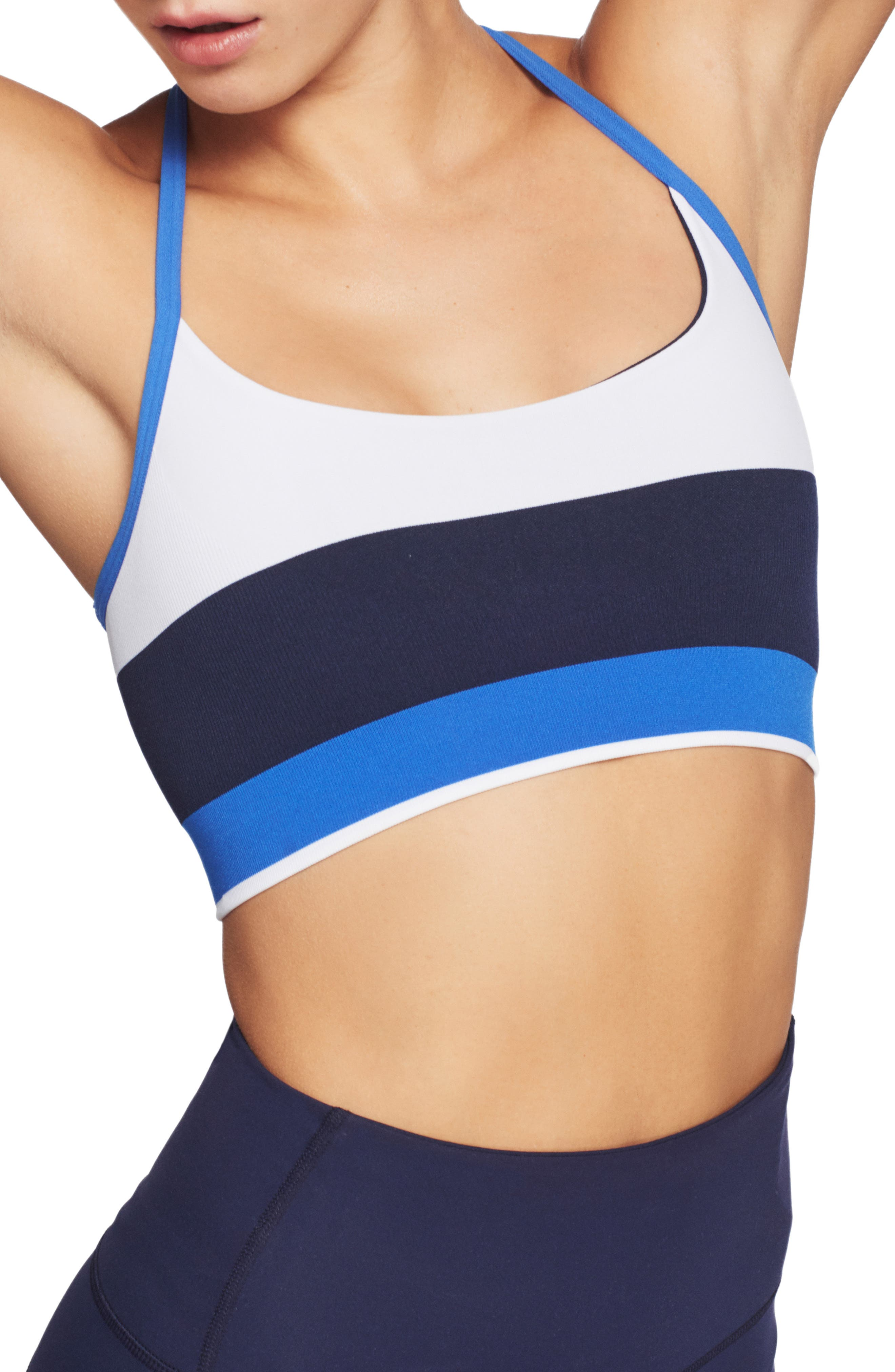 Lndr Shift Sports Bra, Blue