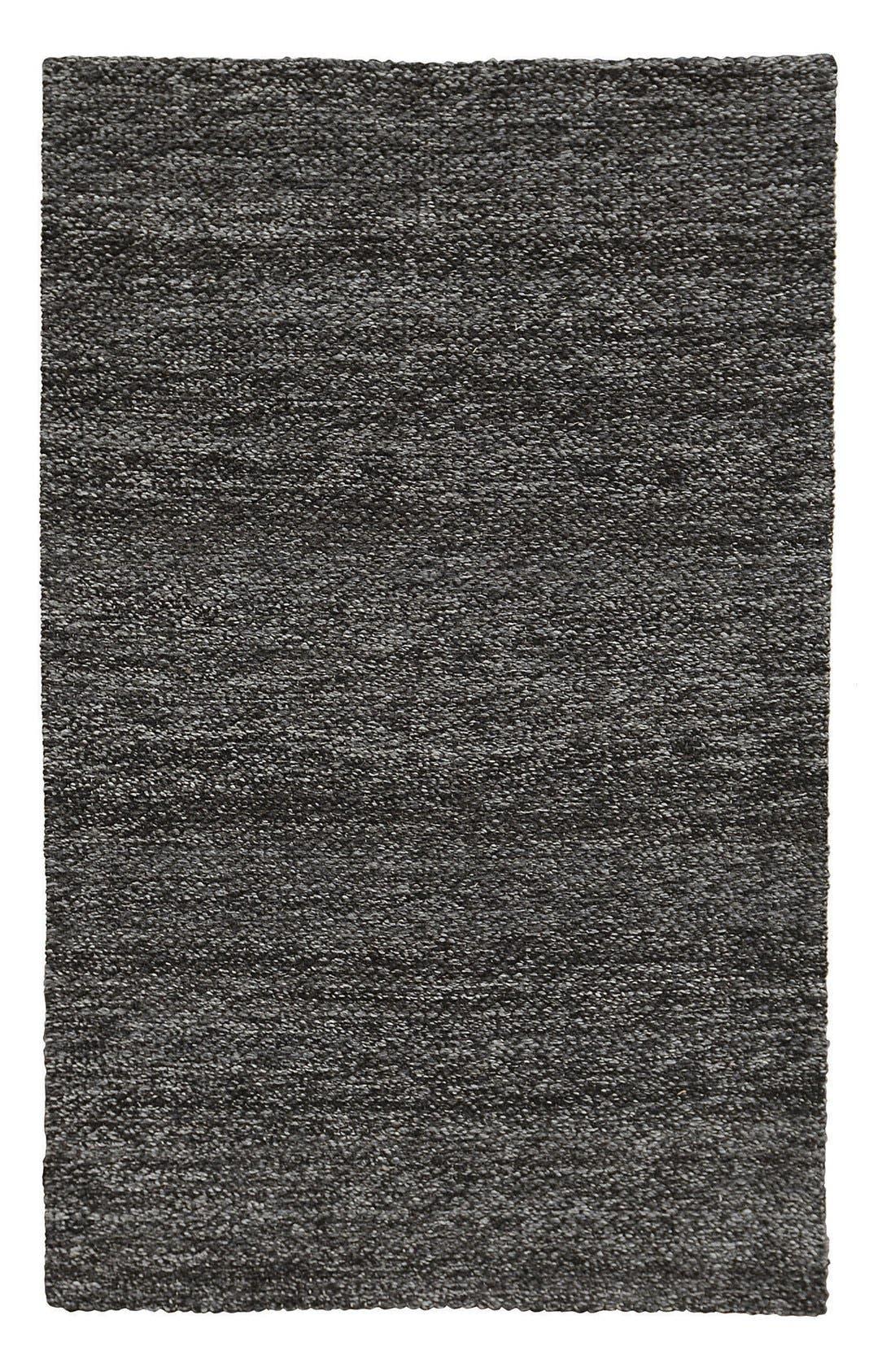 Heathered Wool Rug,                             Main thumbnail 1, color,                             001