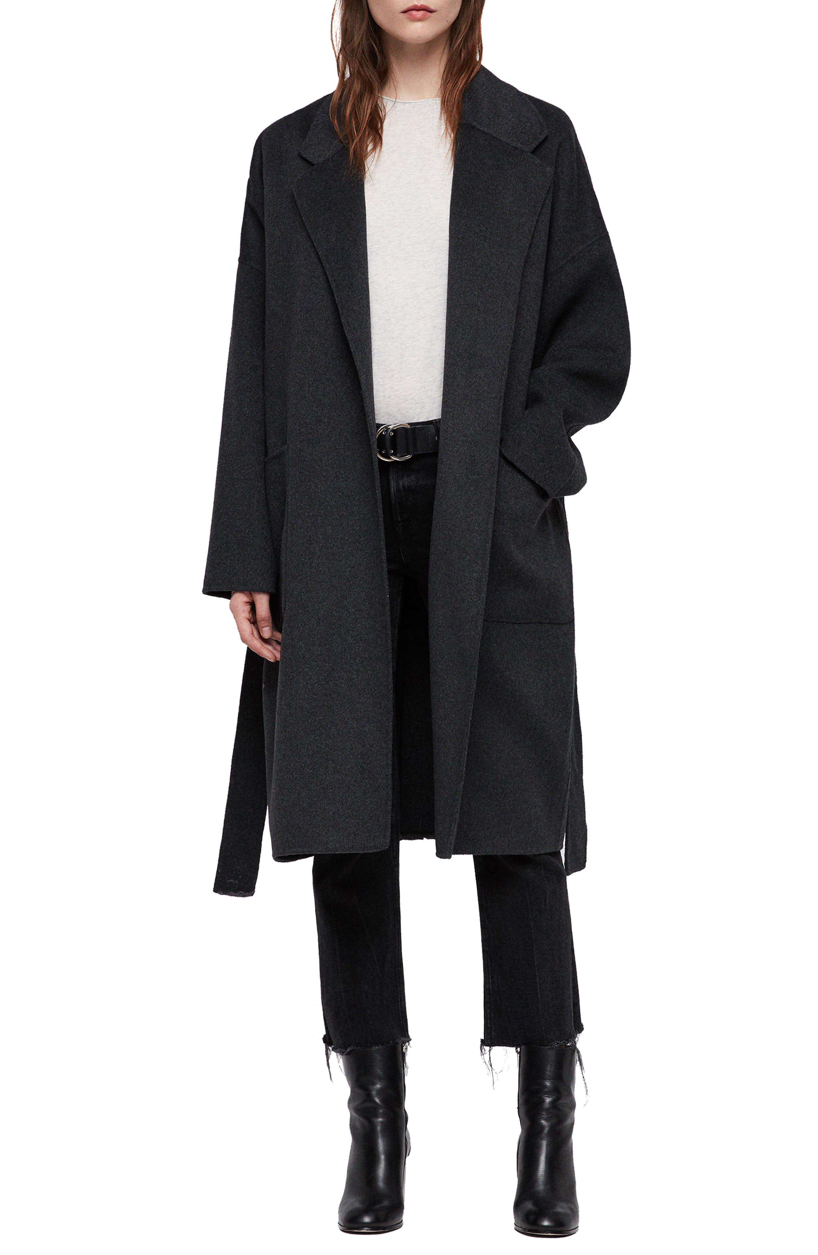Lara Long Coat, Main, color, 078