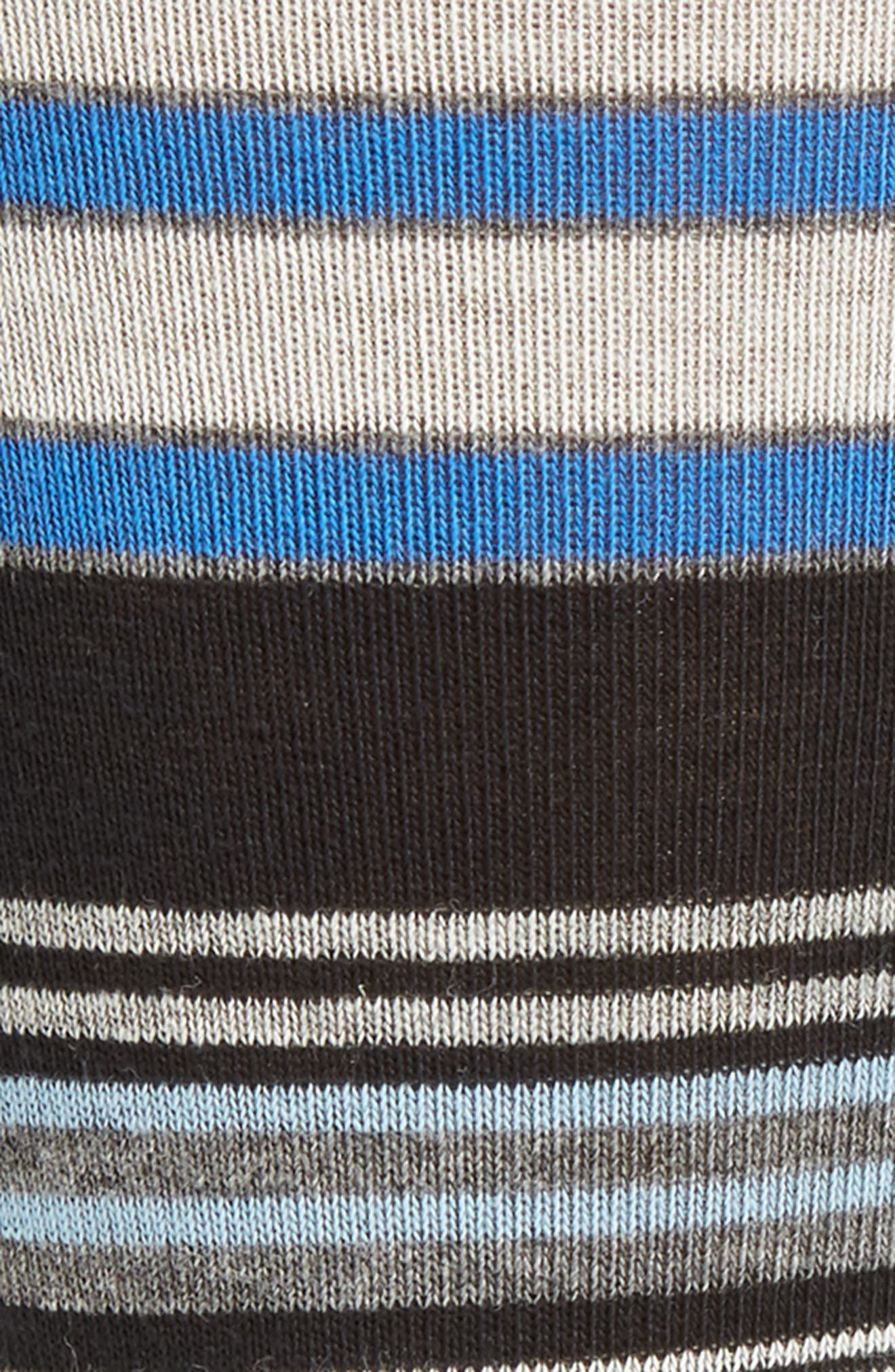Random Stripe Socks,                             Alternate thumbnail 2, color,                             001