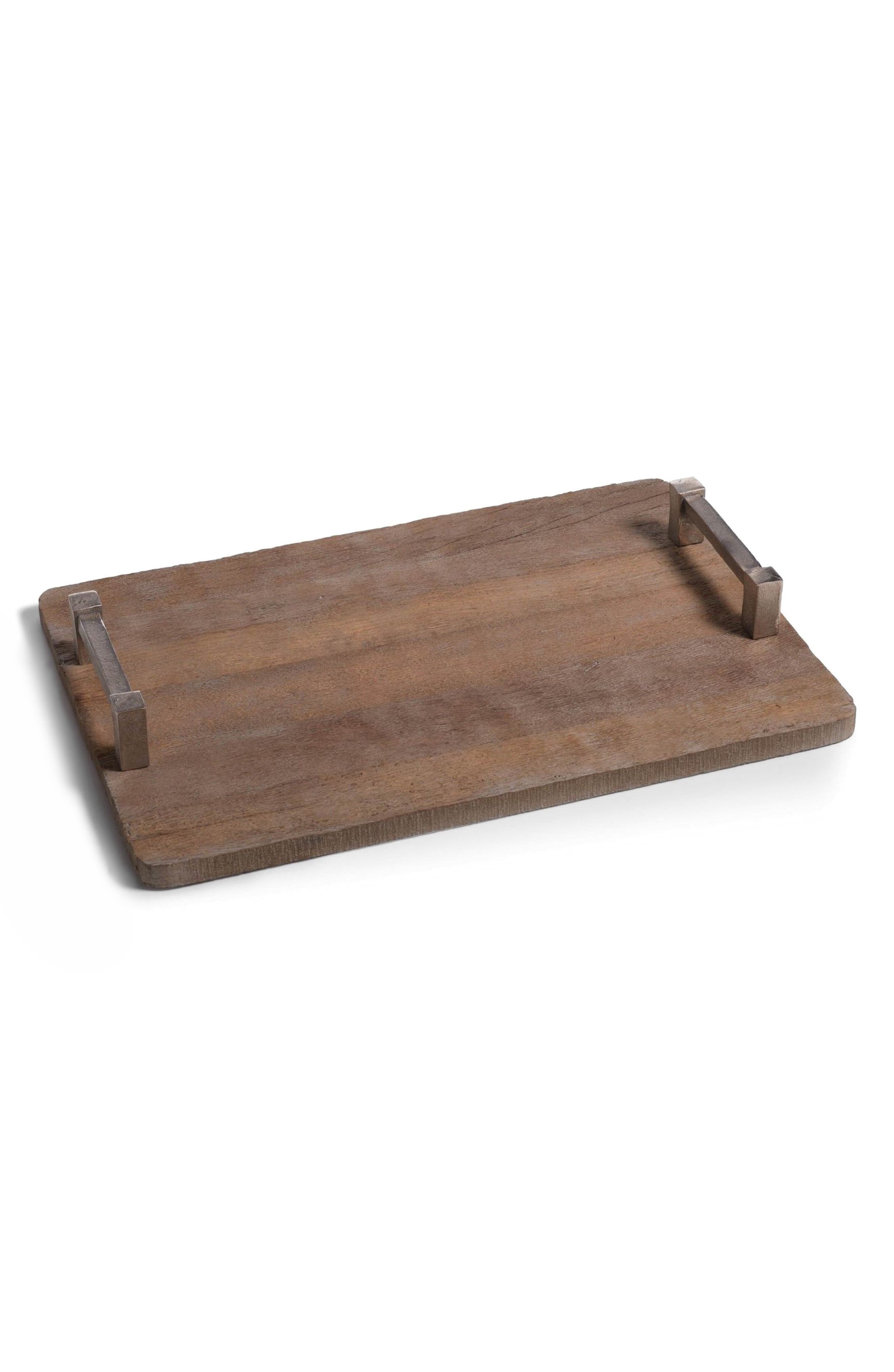 Asval Reclaimed Wood Serving Tray,                         Main,                         color, 200
