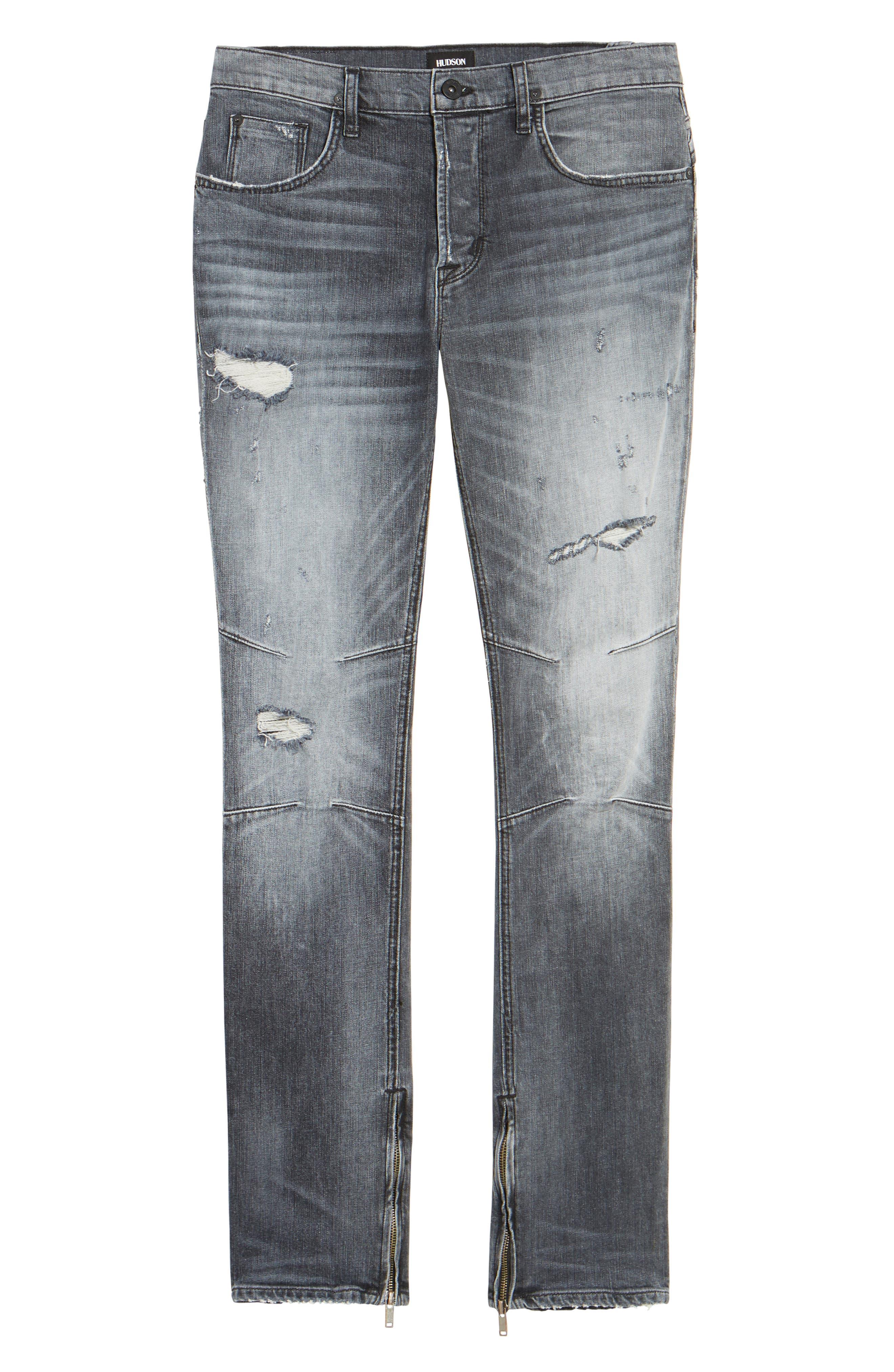Vaughn Skinny Fit Jeans,                             Alternate thumbnail 6, color,                             VIOLATE